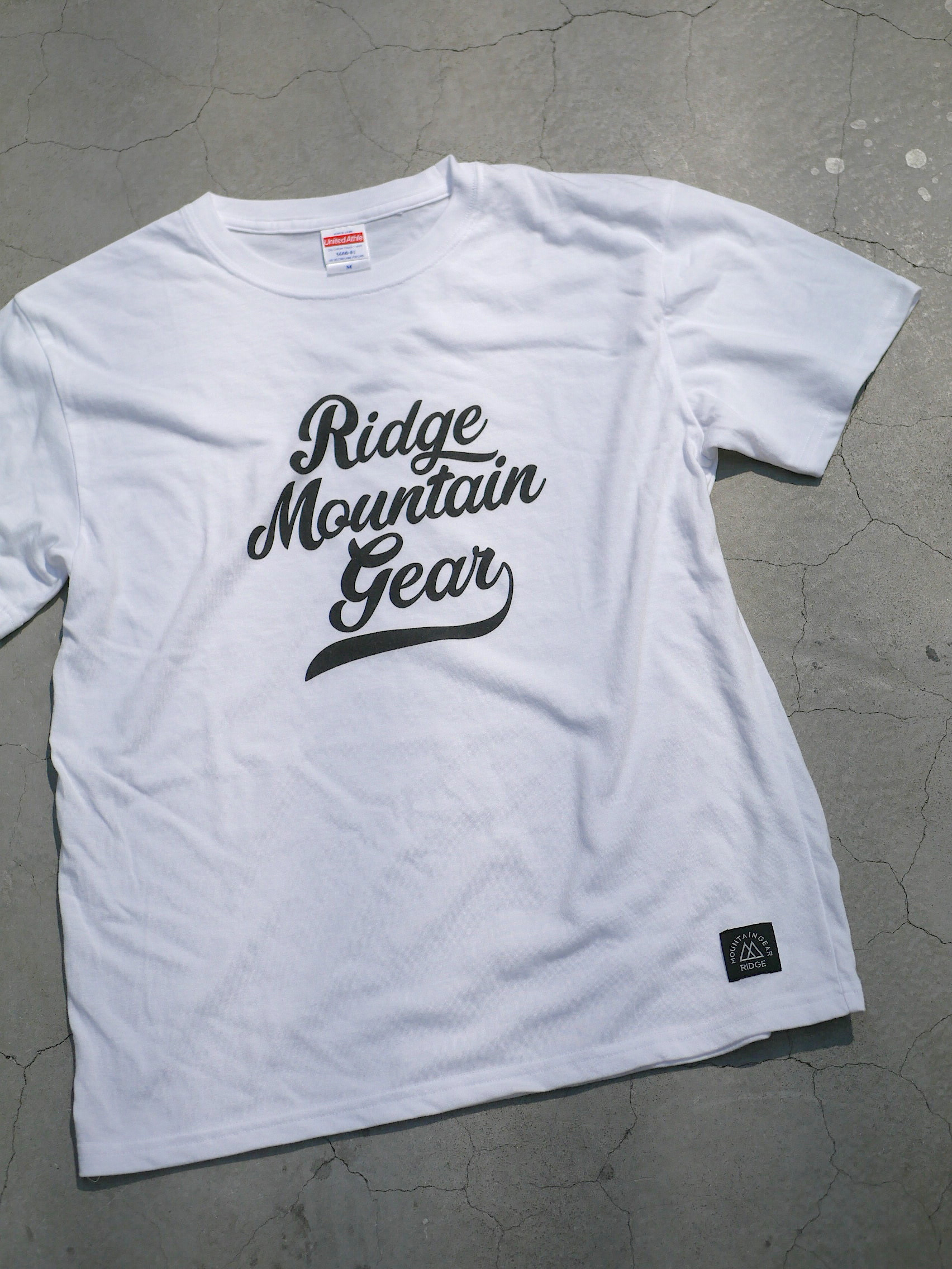 RIDGE MOUNTAIN GEAR / LOGO PRINT TEE