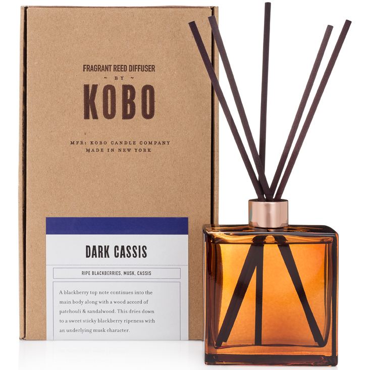 DARK CASSIS - WOODBLOCK REED DIFFUSERS