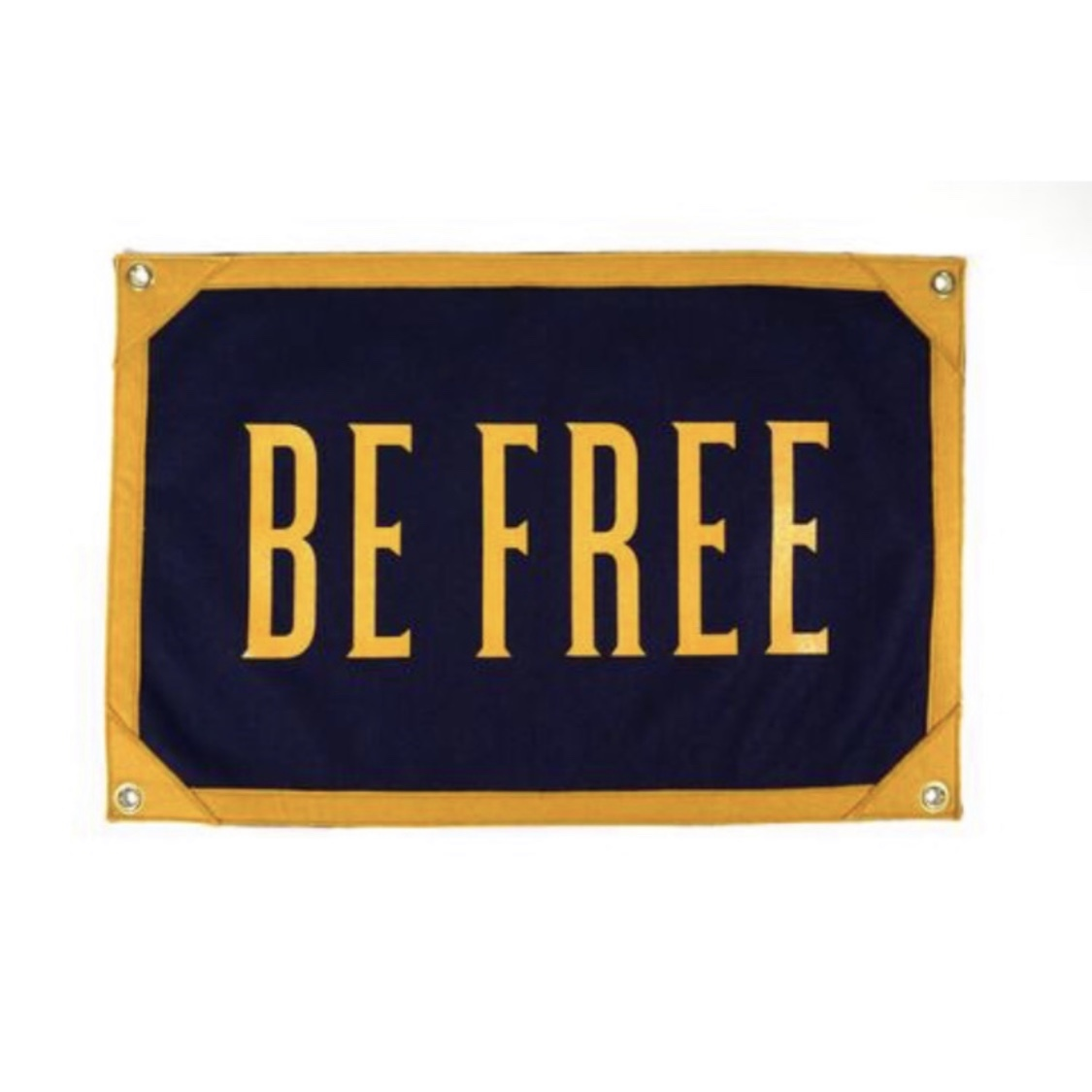 BE FREE Camp Flag