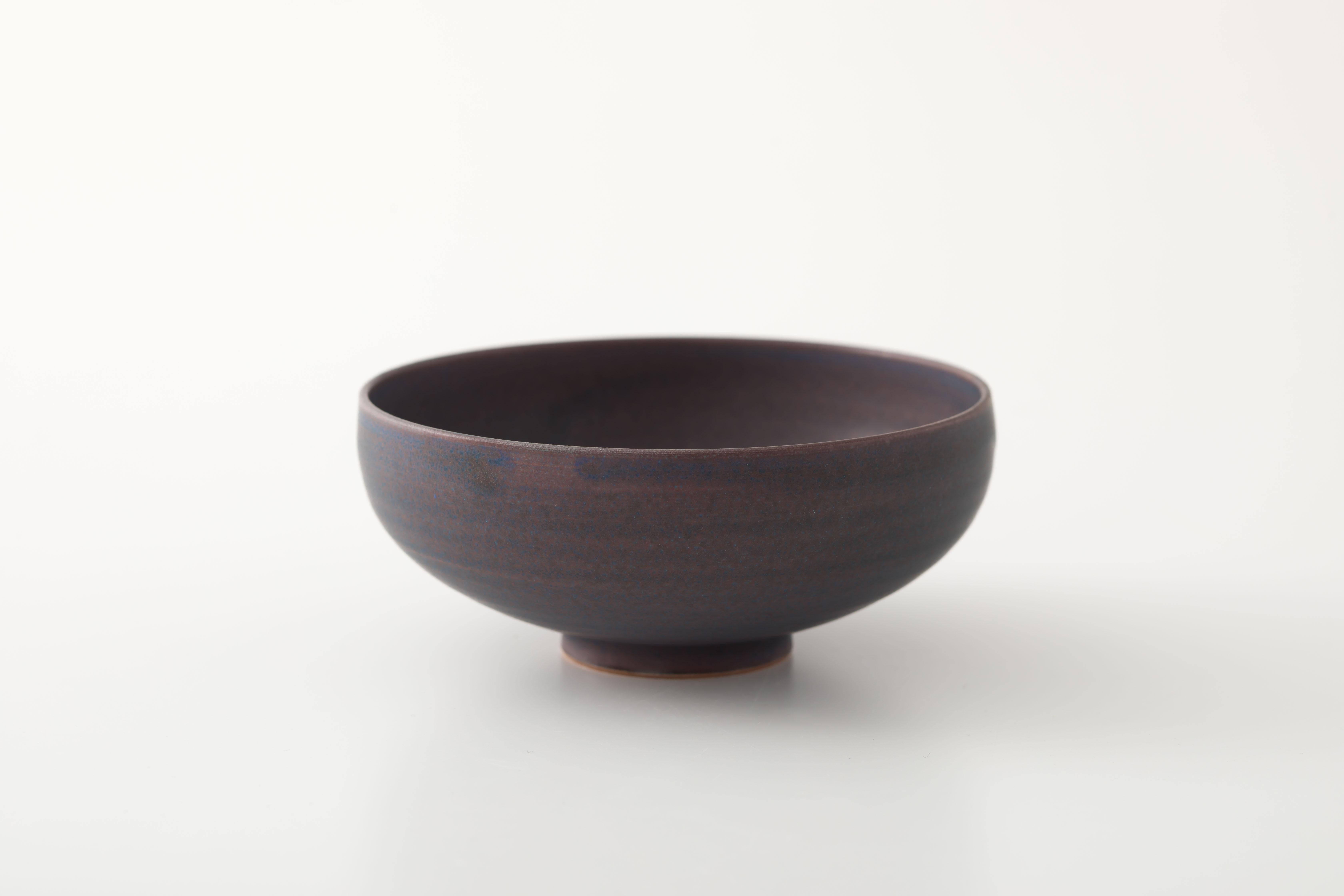 カフェオレボウル : 紫 / TOKINOHA
