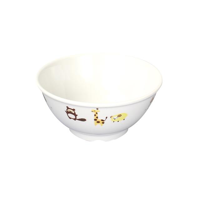 【1001-1350】強化磁器 10.5cm こども茶碗 ホリデー