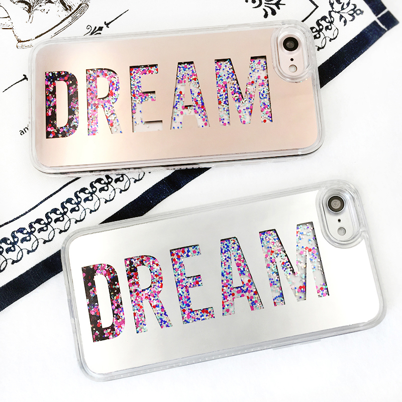DREAM ロゴ iPhone case