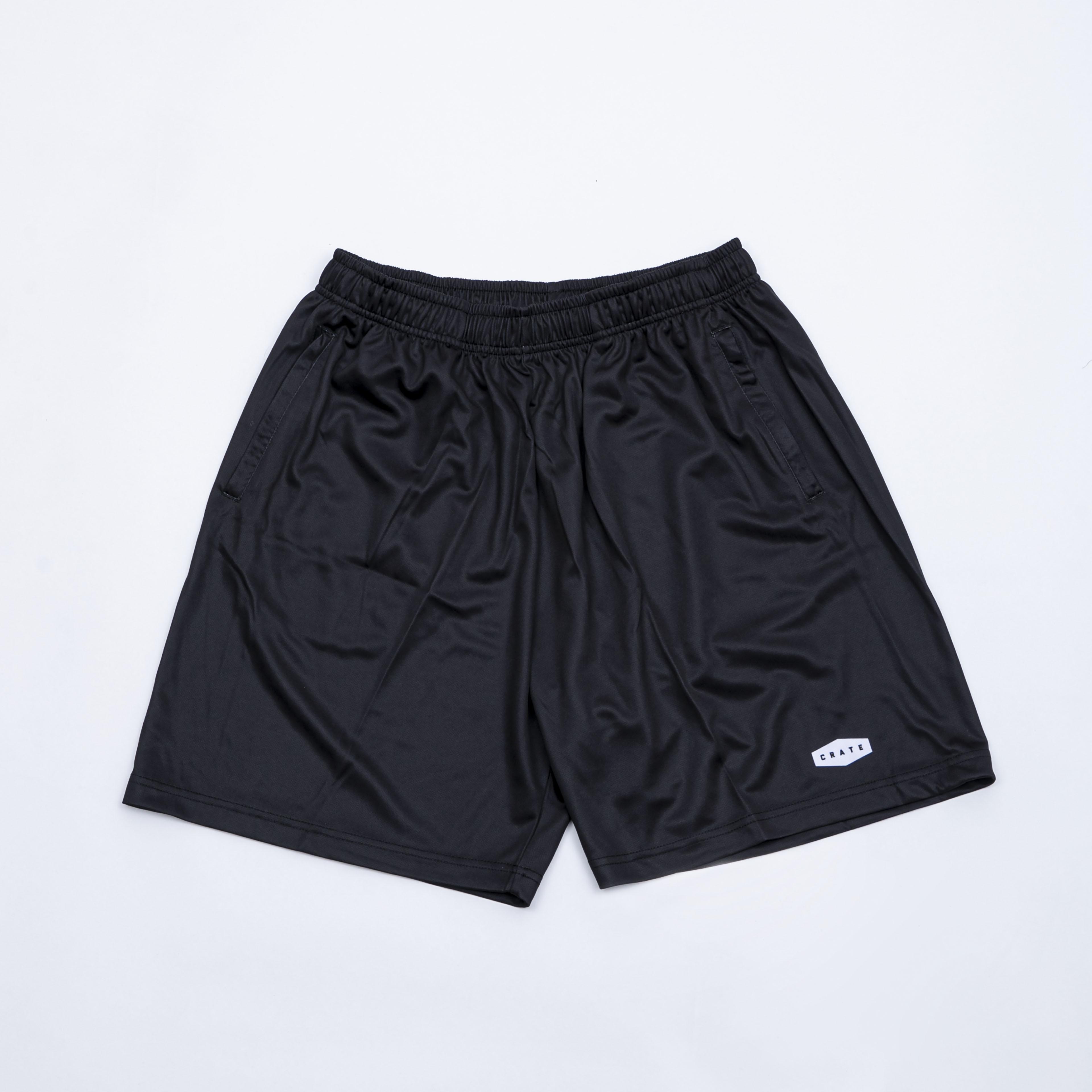 CRATE LOGO Mesh Pants BLACK