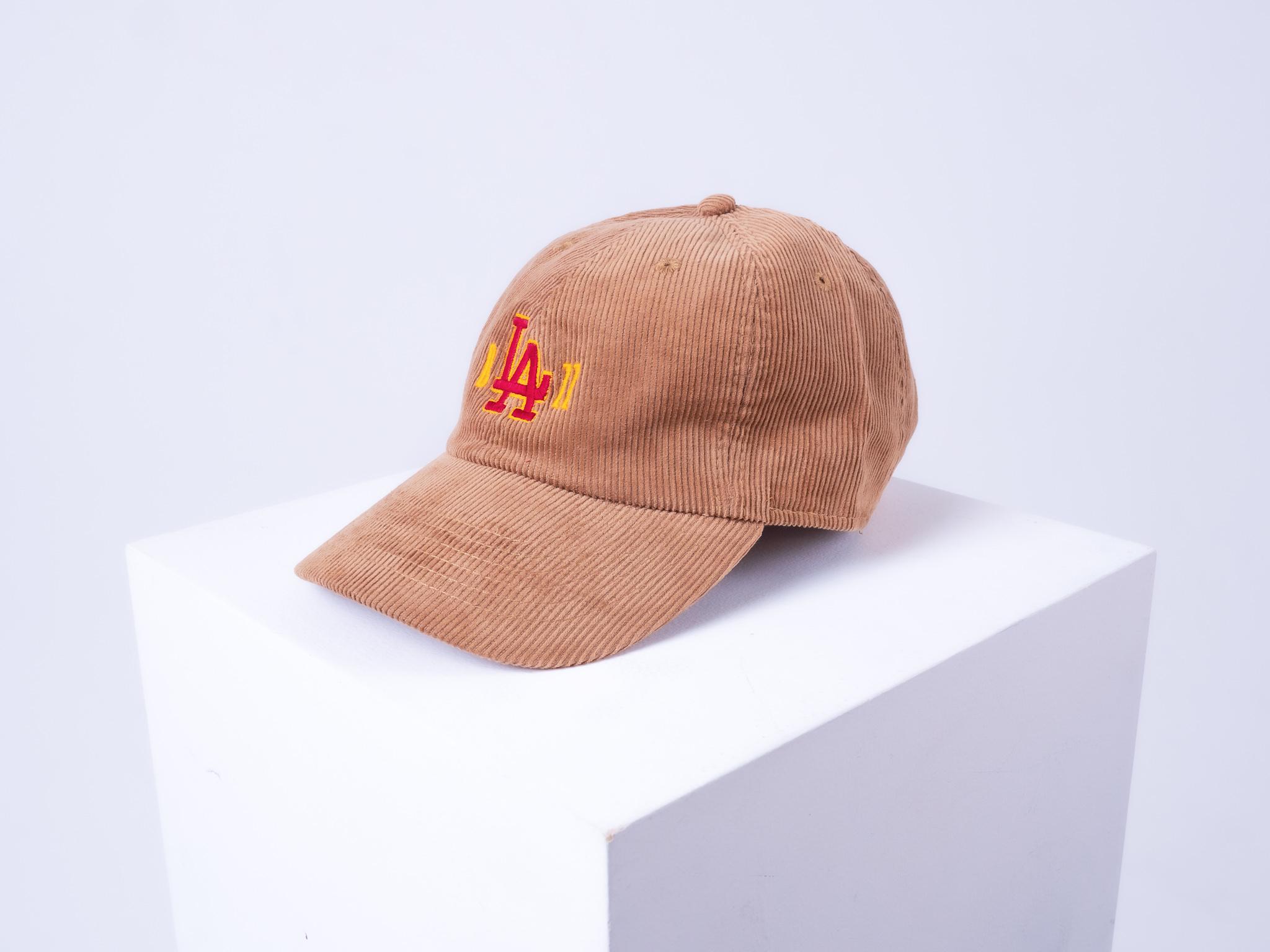 b'LA'zz Corduroy Cap [KHAKI]