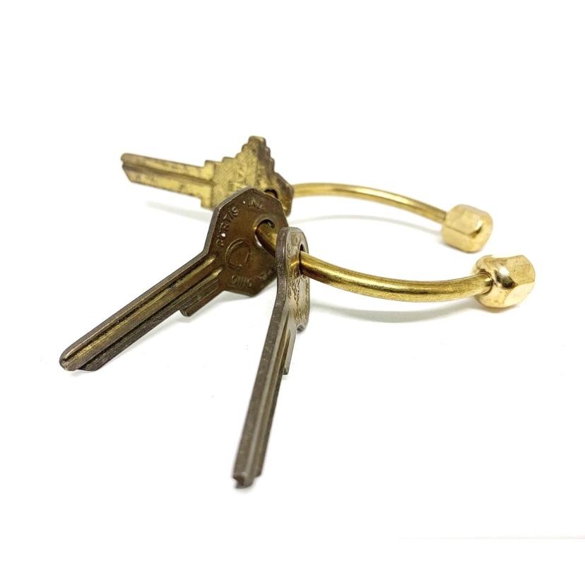 brass key ring ※nomal brass