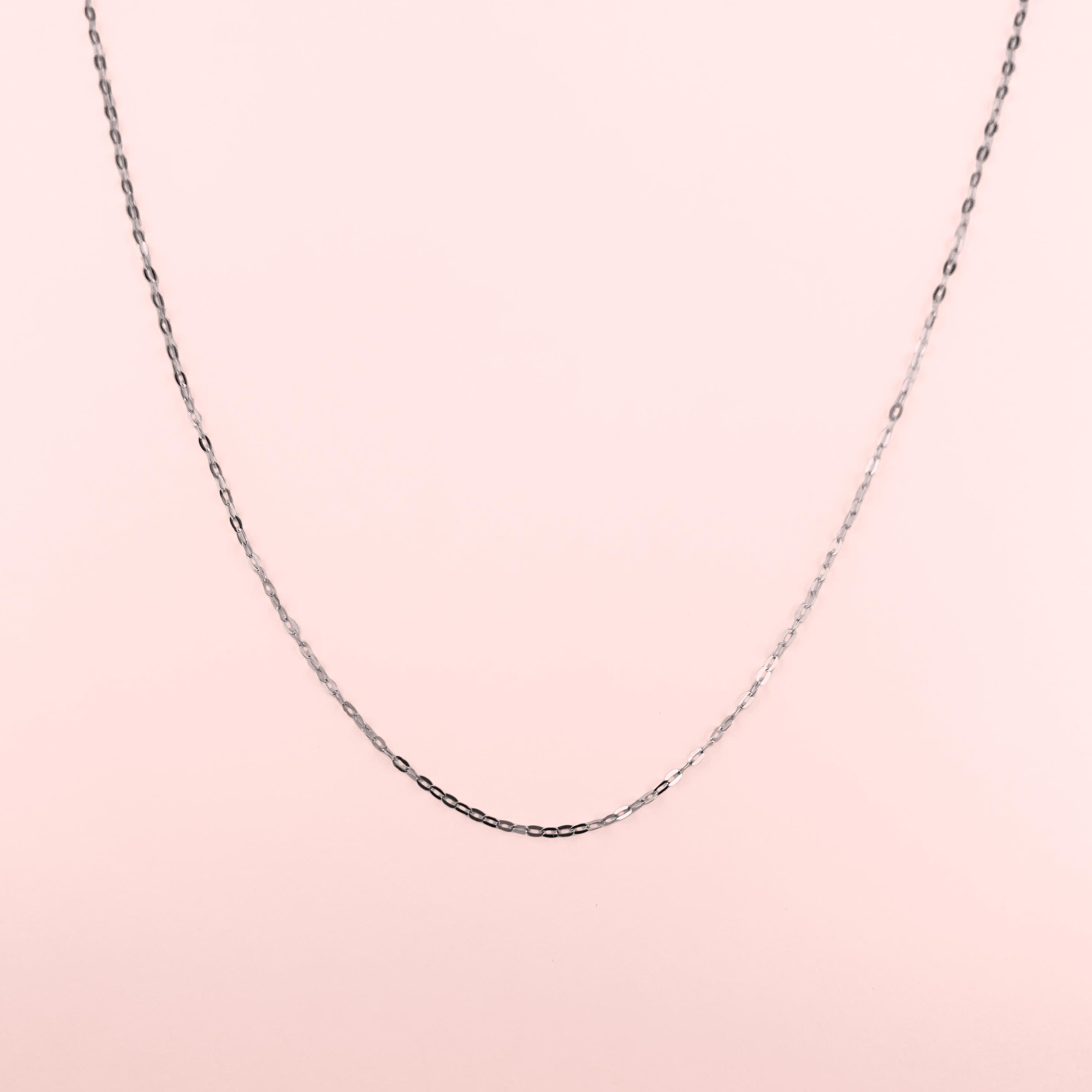 K18WG Necklace(45cm / アジャスター付き)