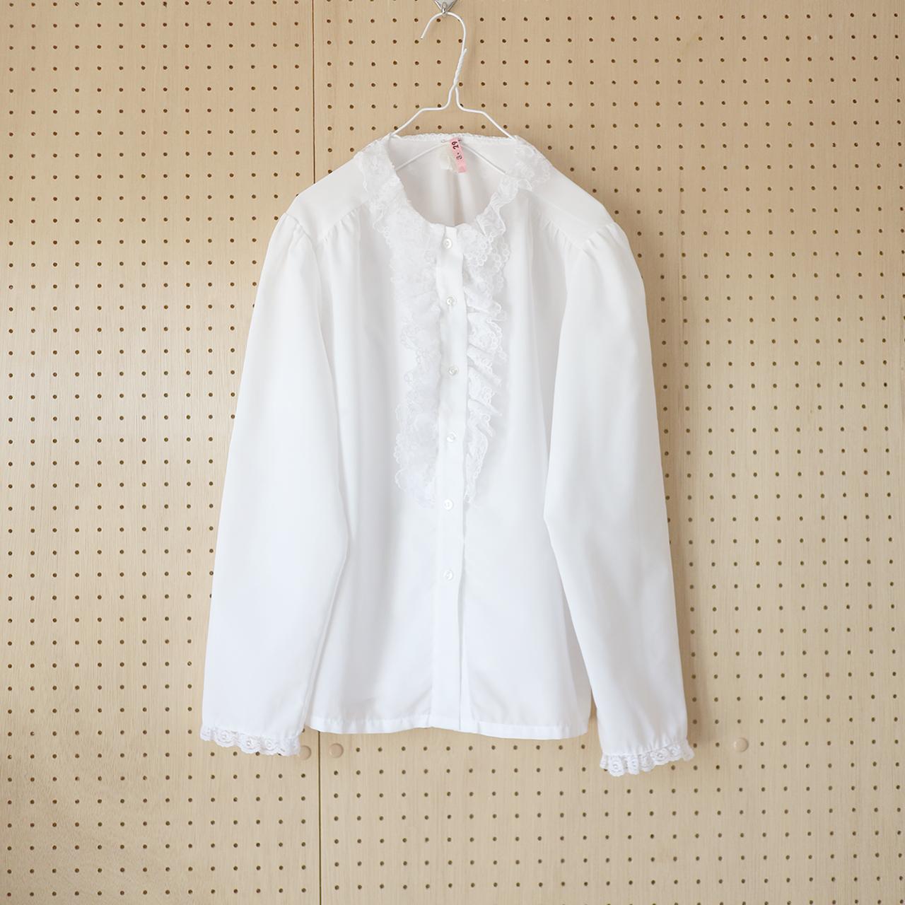 lace fabric white_BL