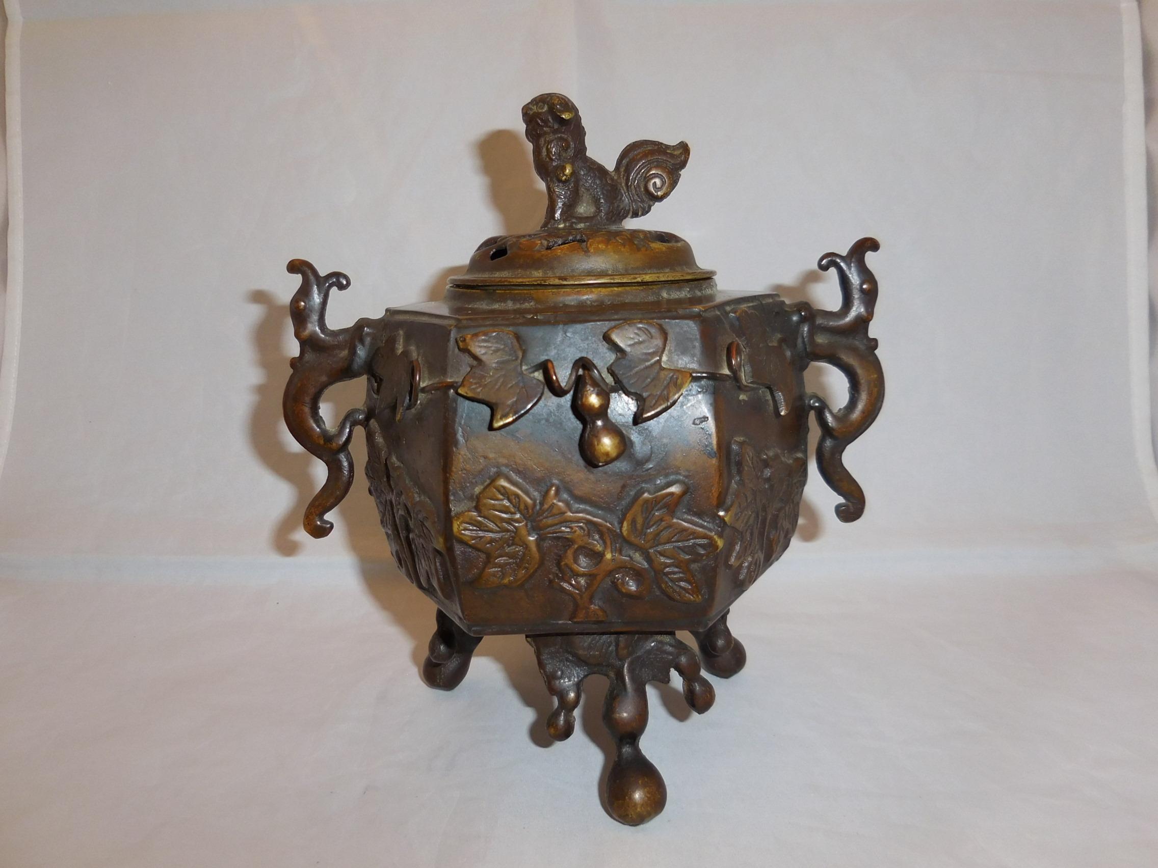 瓢箪香炉 multi-metal incense burner(No14)