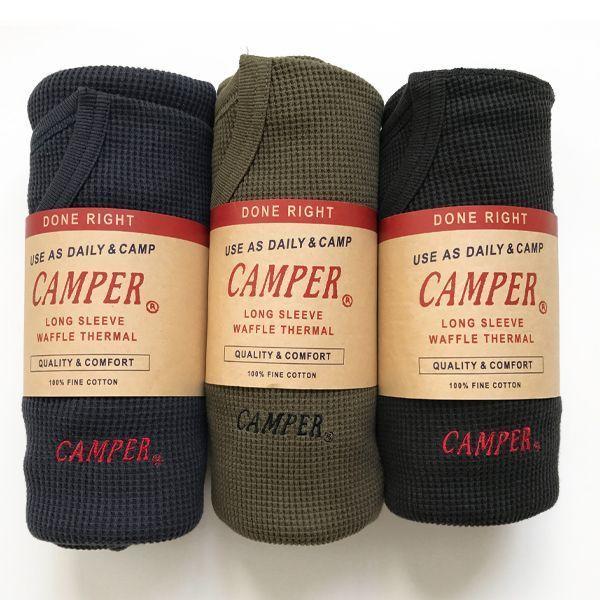 CAMPER Thermal Long Tee