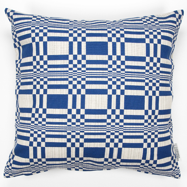 JOHANNA GULLICHSEN Zipped Cushion Cover Doris Blue