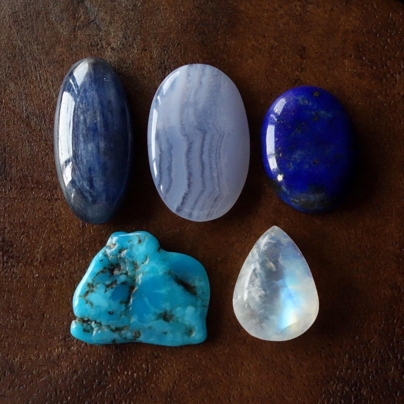 天然石セット Blue