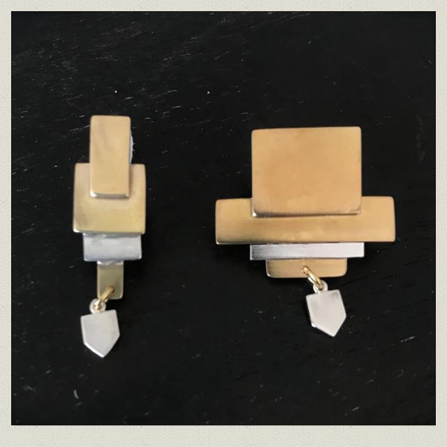 square  earring  1(pierce)SqE-1