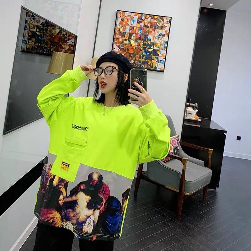 neon illustrator shirt