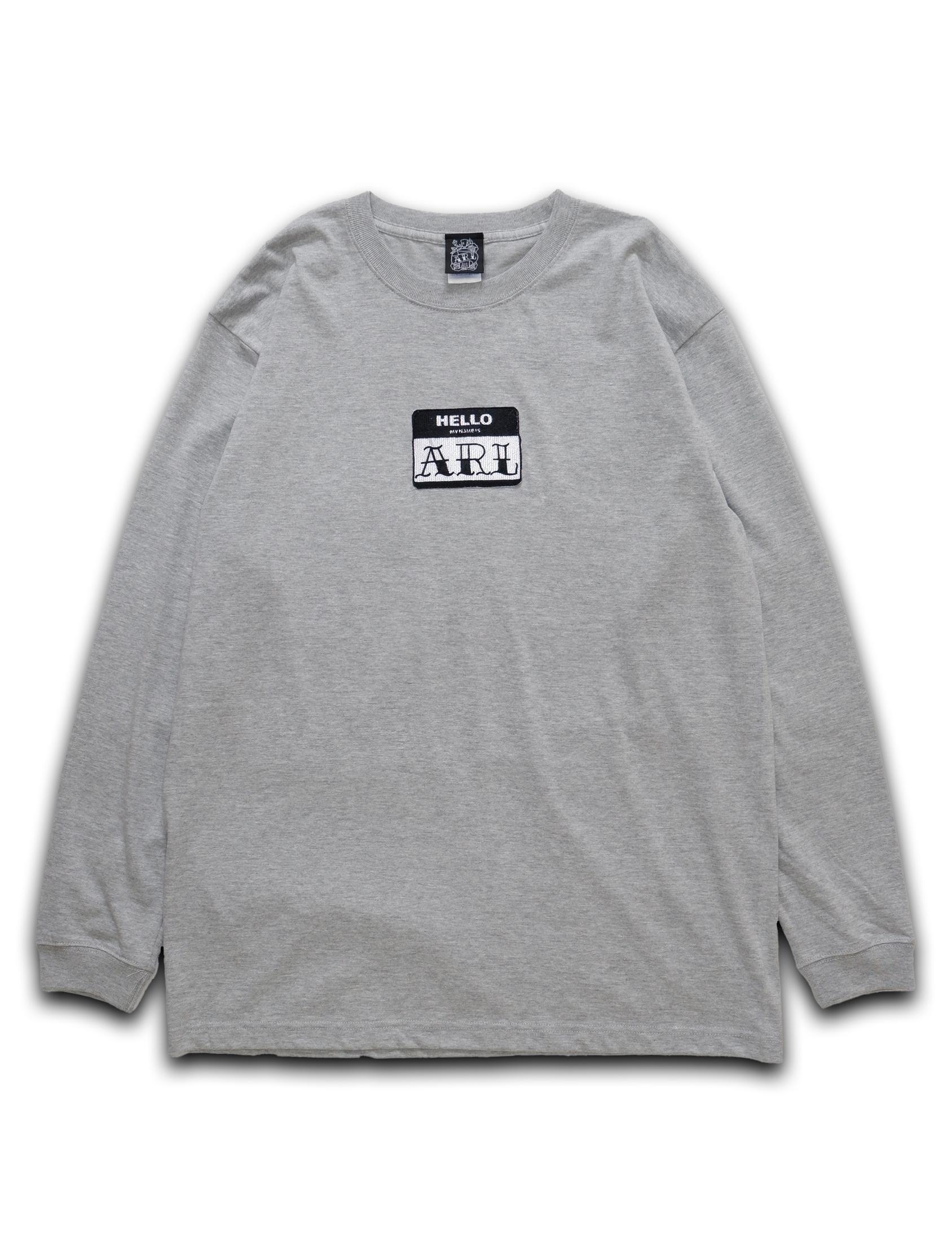 LOGO PATCH L/STEE gray