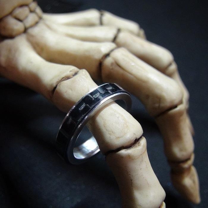 【珍しいクルクル回る指輪】 気持ちが落ち着く / プレゼントとしてもおしゃれ