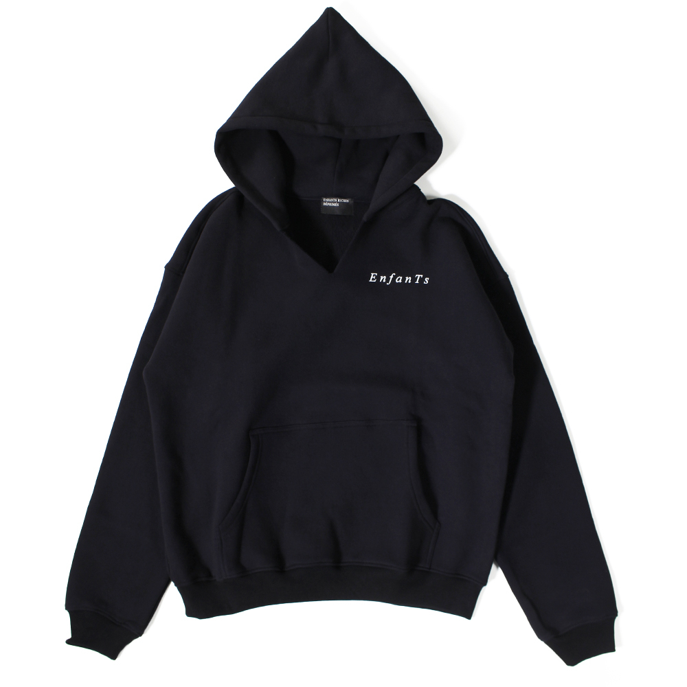 ENFANTS RICHES DÉPRIMÉS  Black Hoodie