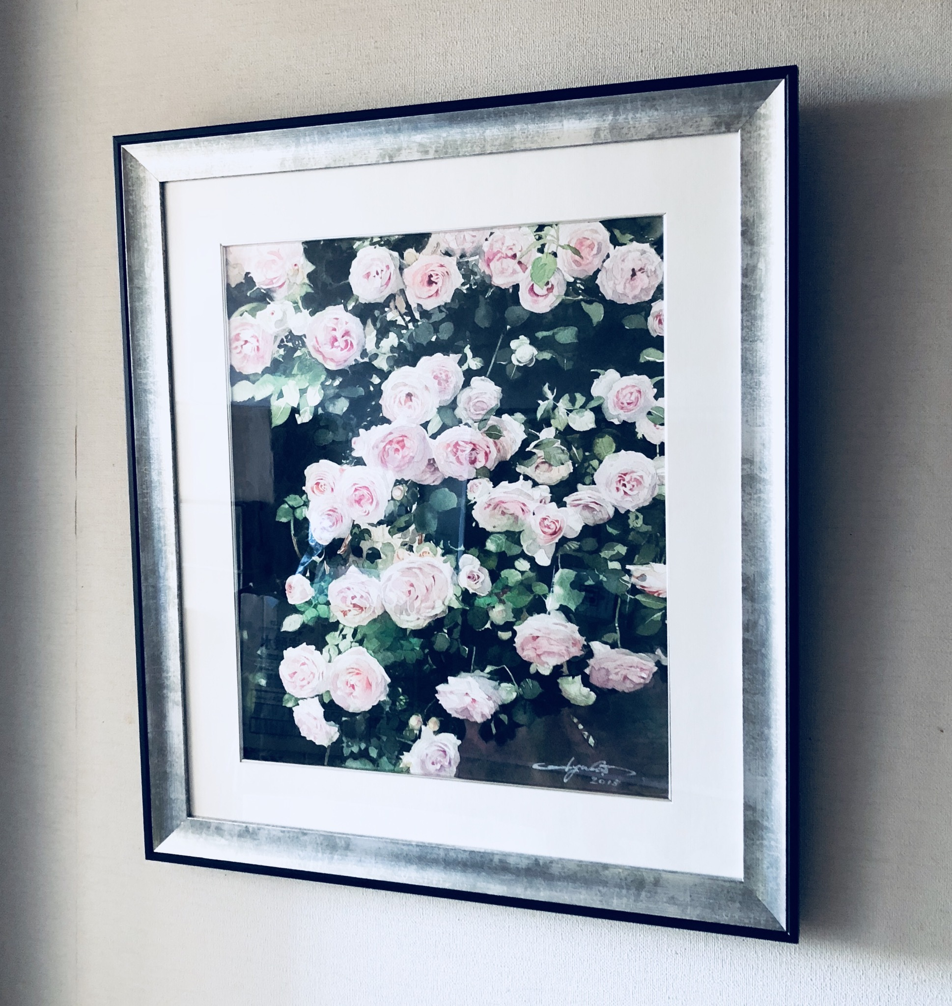 Pre-Ordar    ガーデンに咲く薔薇を描く