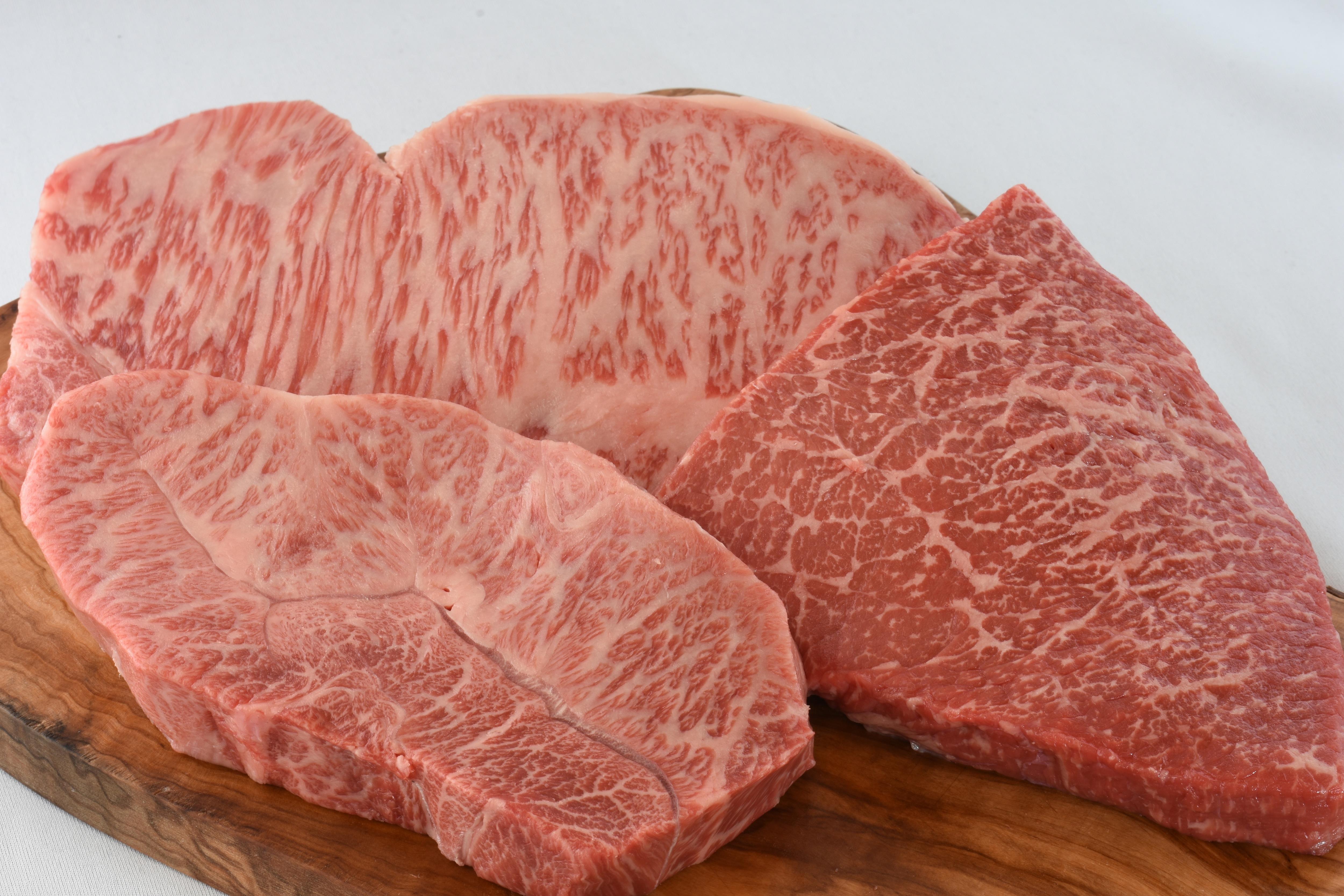 ミートコンシュルジュセレクト和牛ステーキ詰め合わせ(3枚/500g相当)