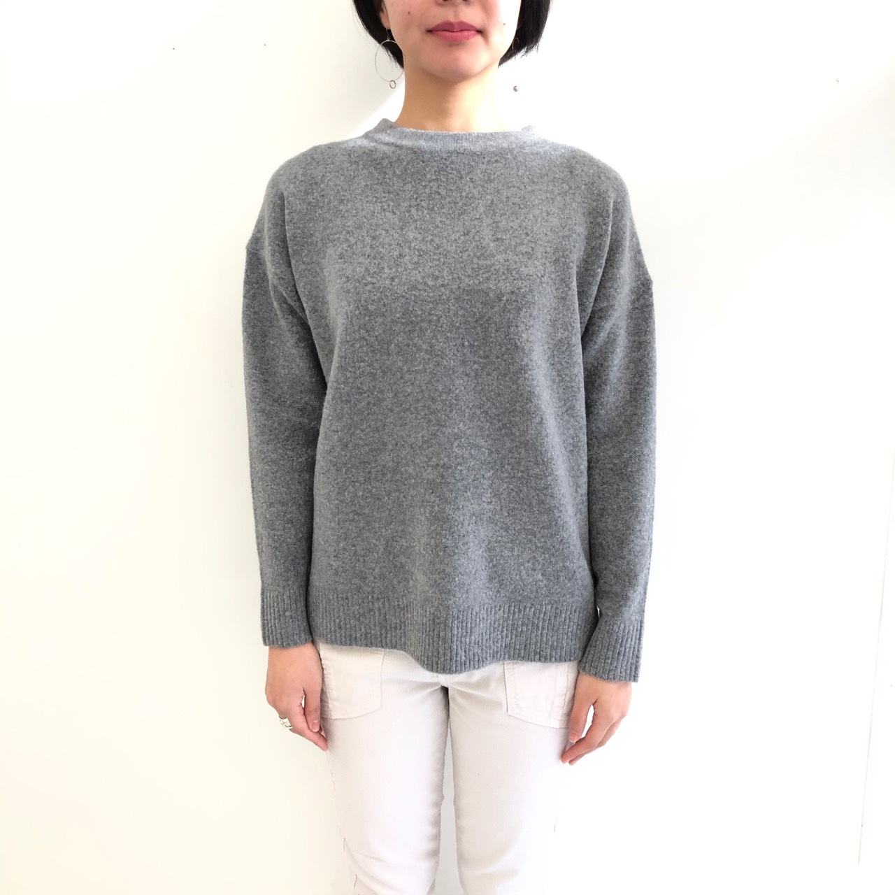 【 siro de labonte】- R933109 - yak feel design po knit