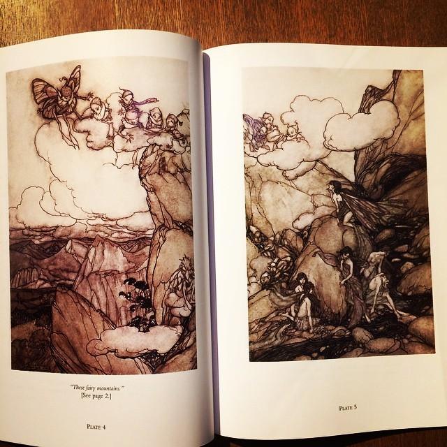 絵本「Washington Irving's Rip Van Winkle/Arthur Rackham」 - 画像2