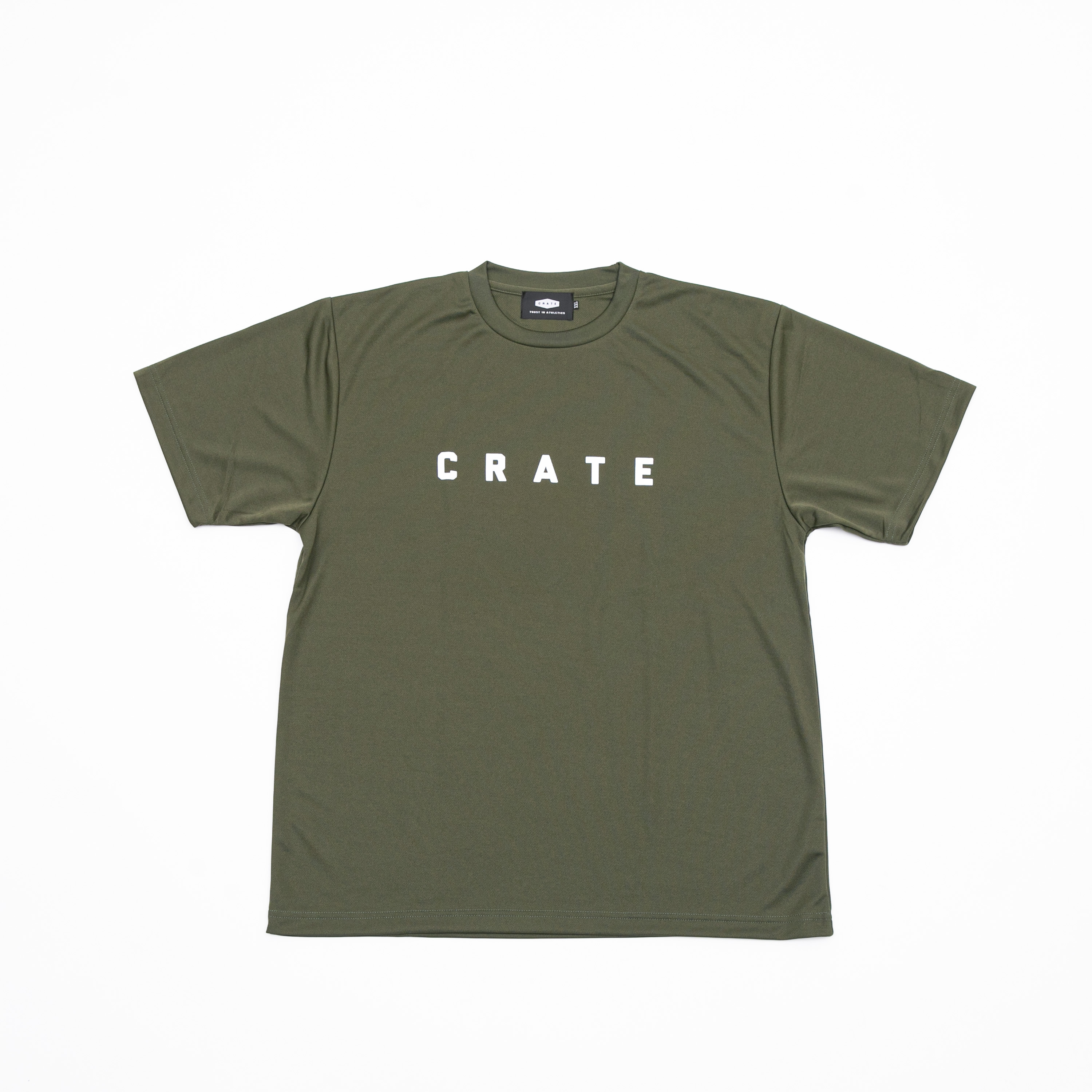 CRATE MESH T-SHIRTS OLIVE