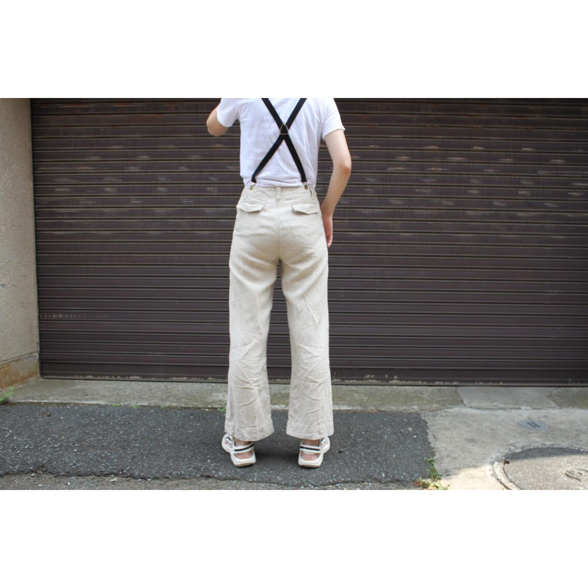 Vintage linen pants by Eddie Bauer