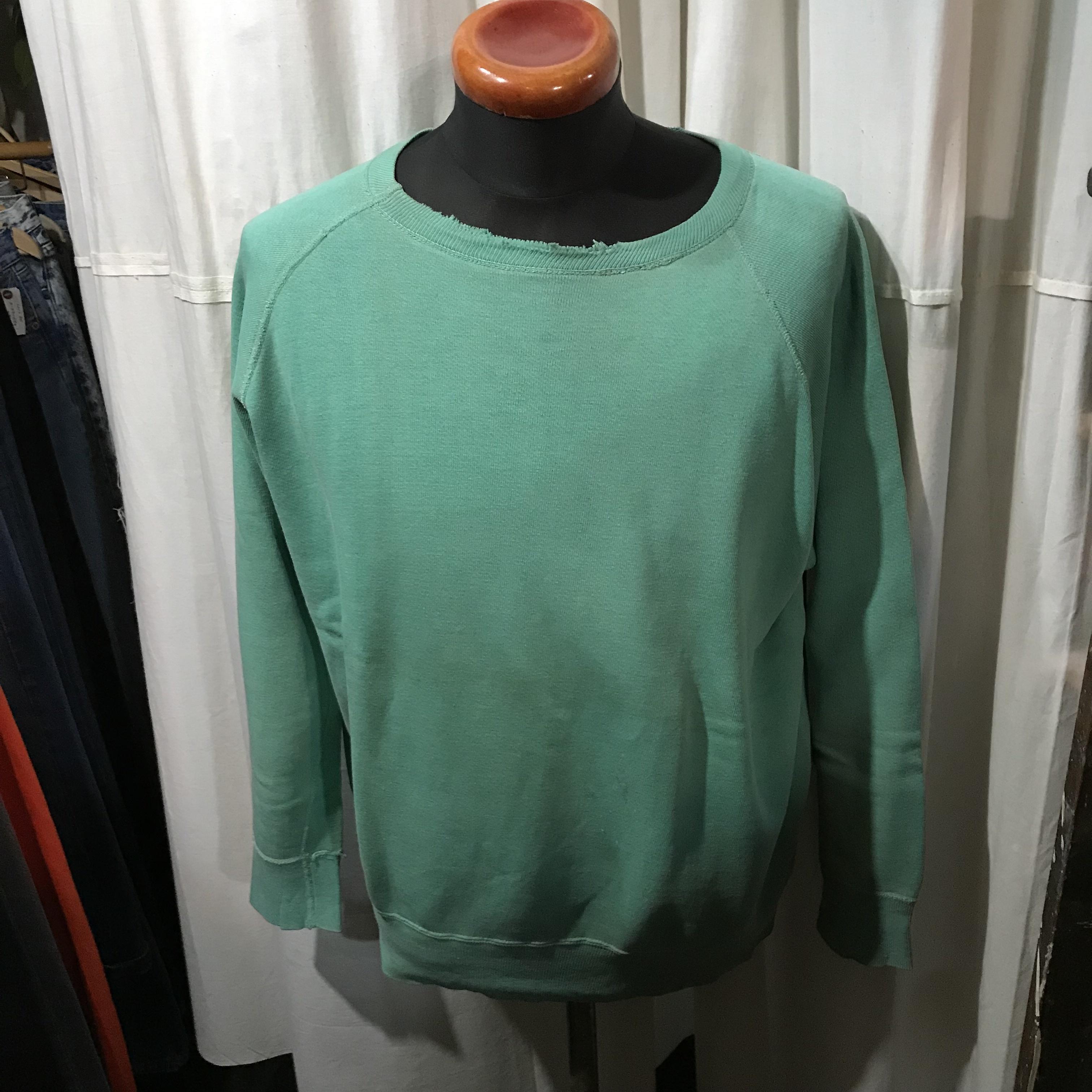 ~60's vintage リブ長 スウェットシャツ メンズL