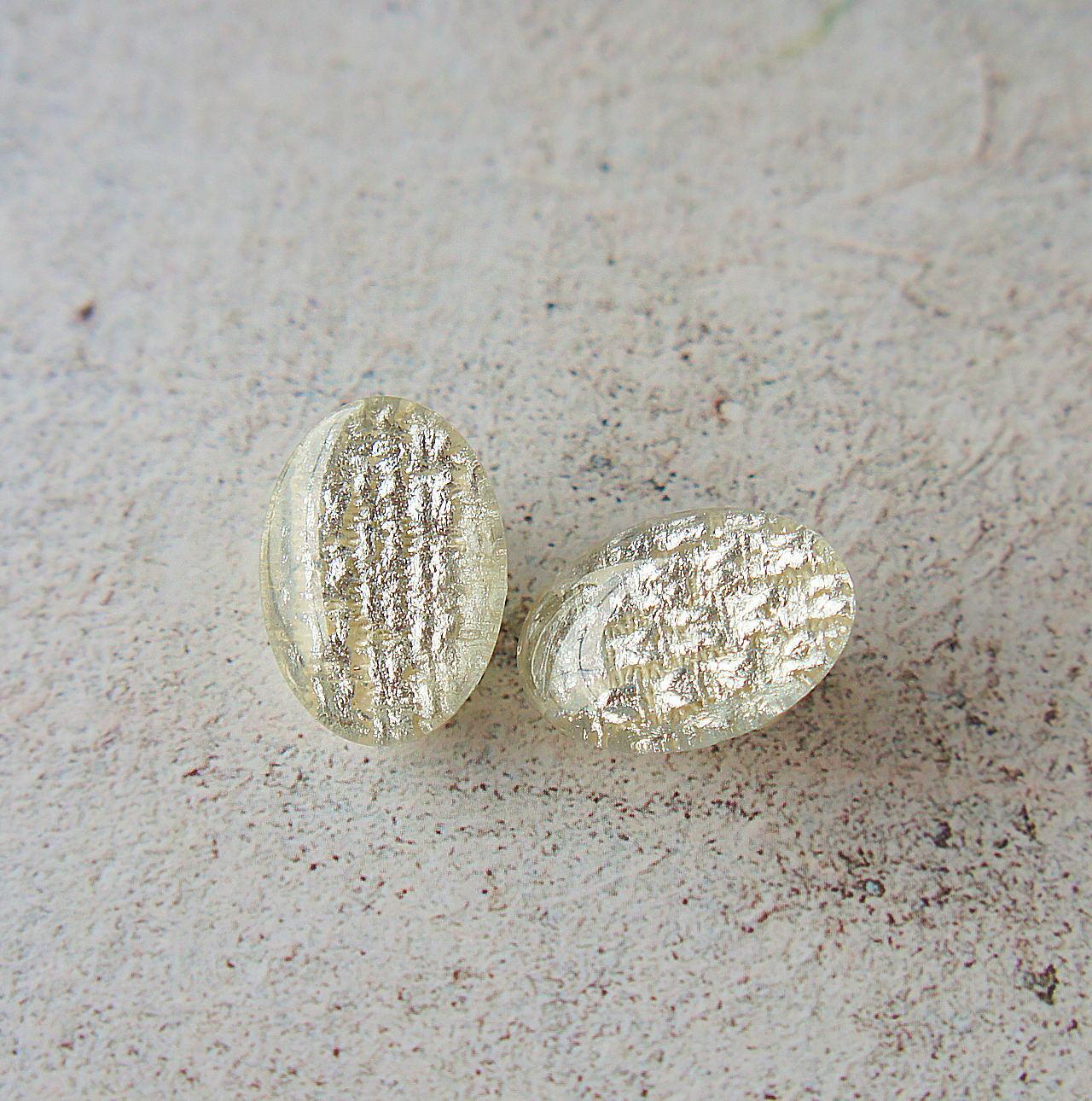 """"""" Earrings NO.0-1882″ シルバーオーバル 25×18㎜"""