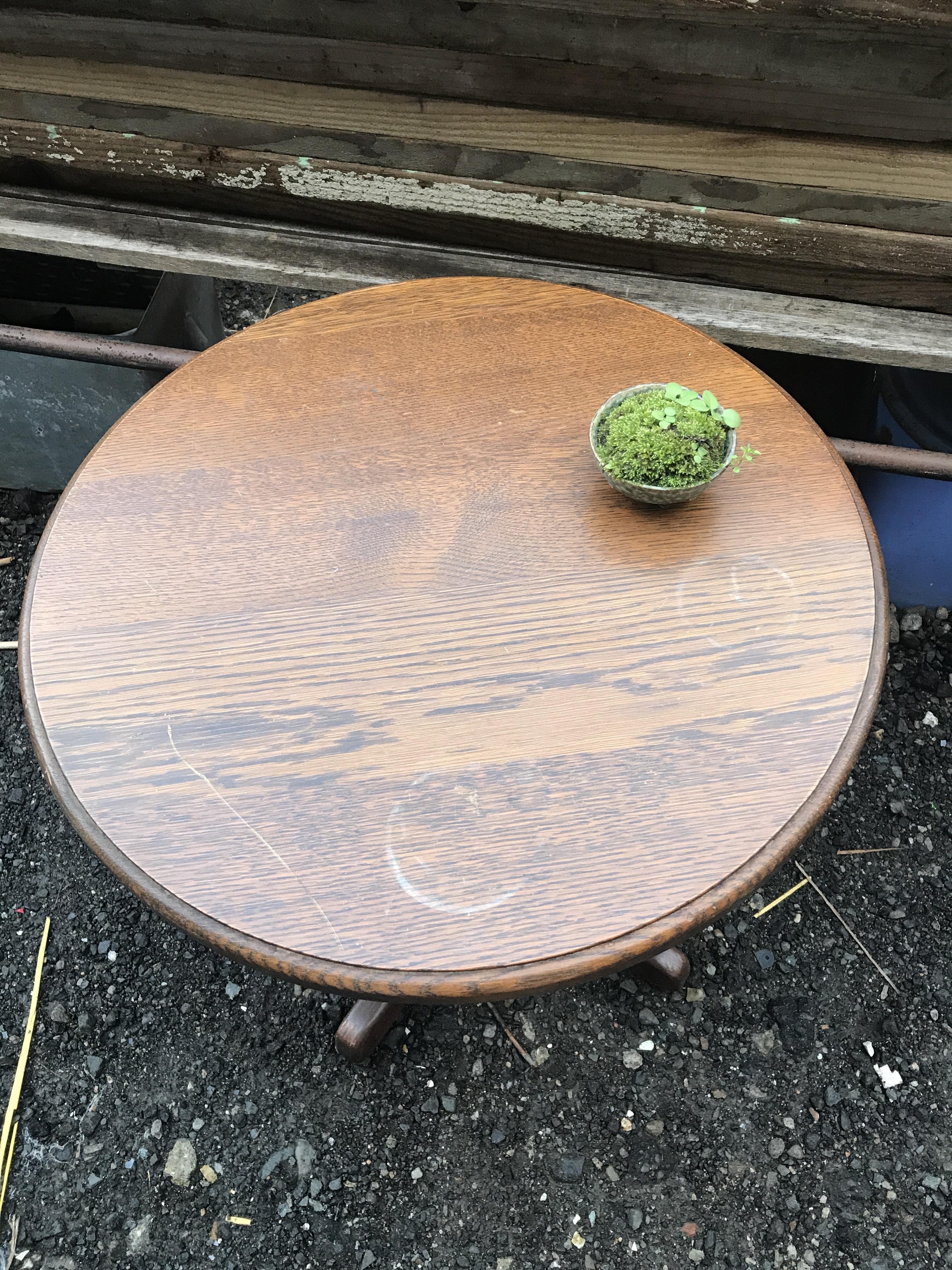 レトロ 丸テーブル