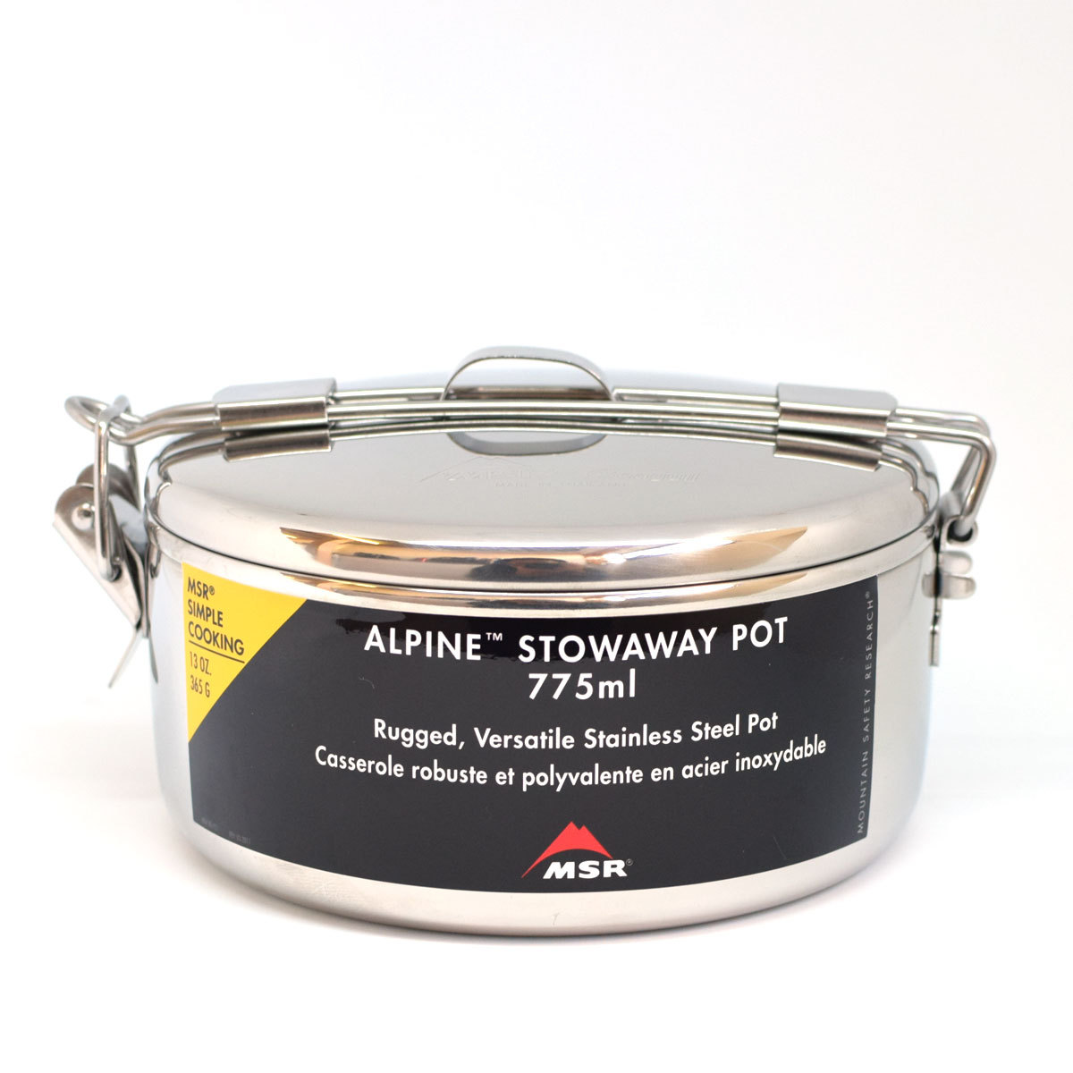 MSR ALPINE STOWAWAY POTS アルパインストアウェイポット 775cc