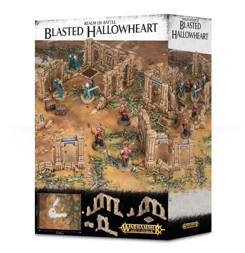 REALM OF BATTLE: BLASTED HALLOWHEART