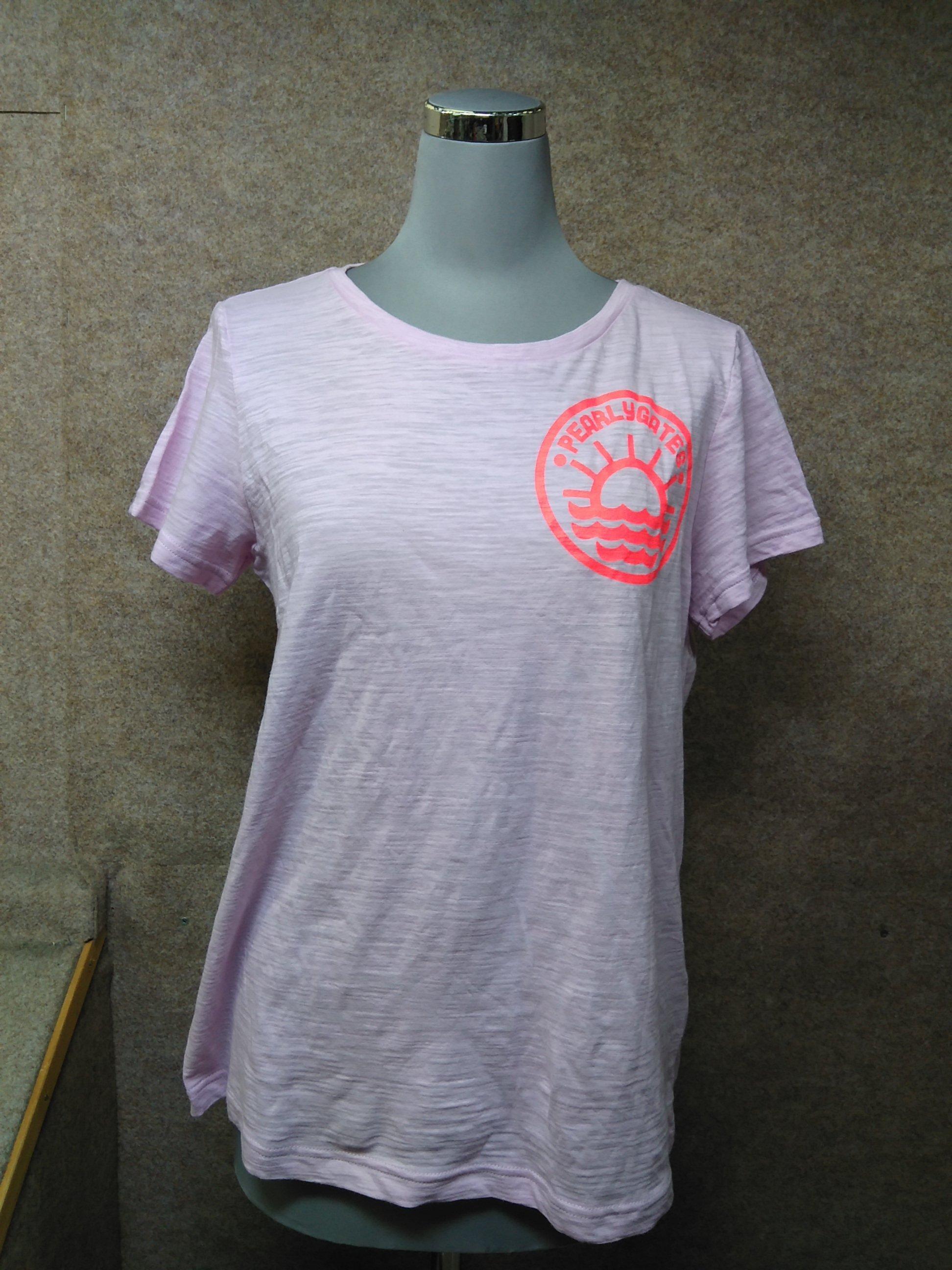 パーリーゲイツ PEARLYGATES Tシャツ サイズ1 ピンク mu533e