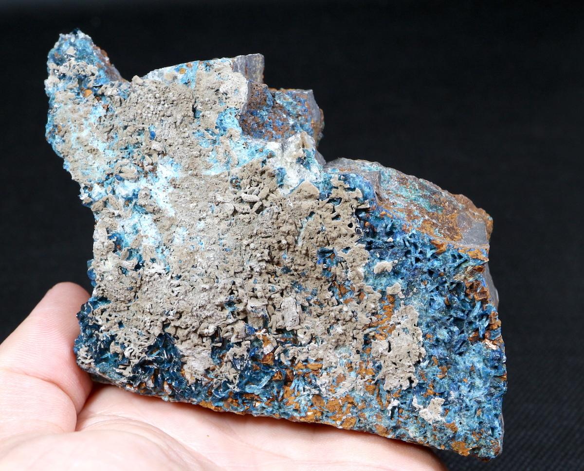 ラズライト天藍石 Lazulite カナダ産 363g LZL007  鉱物 天然石 パワーストーン 原石