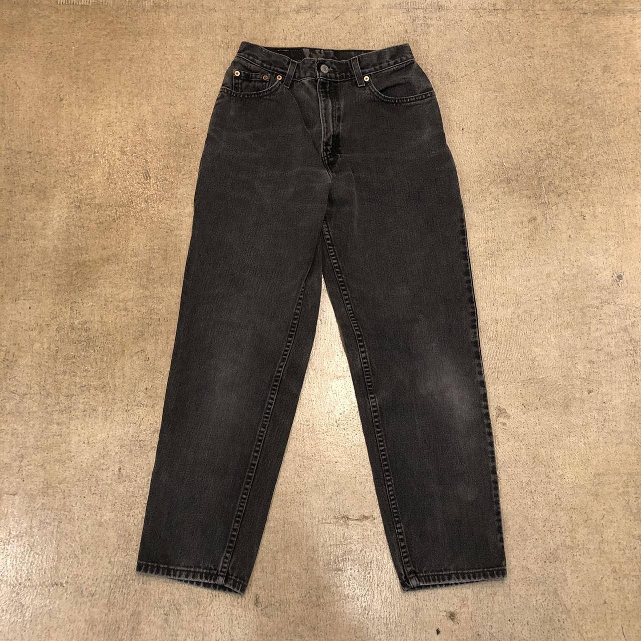 Levi's 550 Black Denim ¥7,900+tax