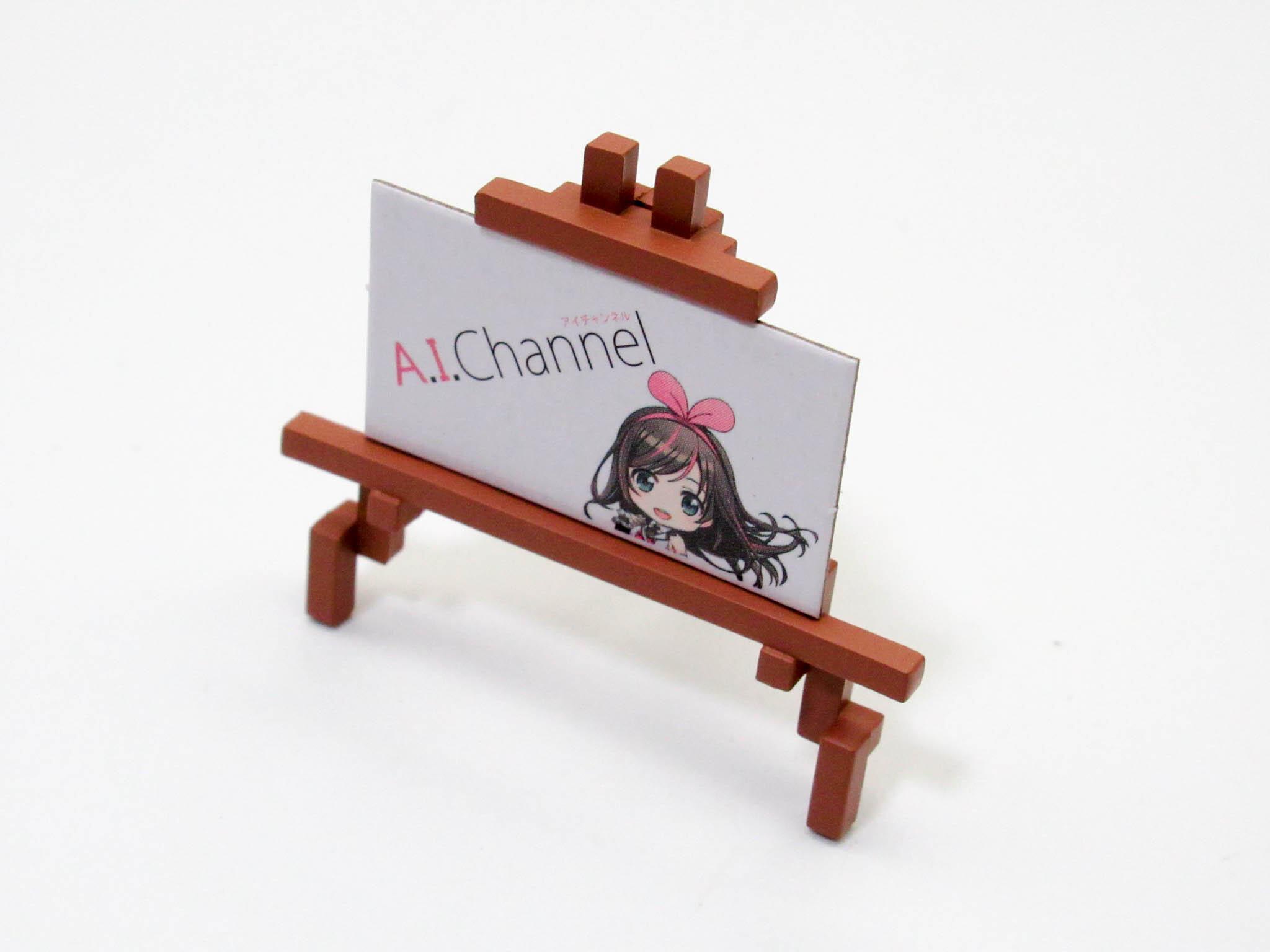 【1115】 キズナアイ A.I.Channel 2019Ver. 小物パーツ イーゼル ねんどろいど