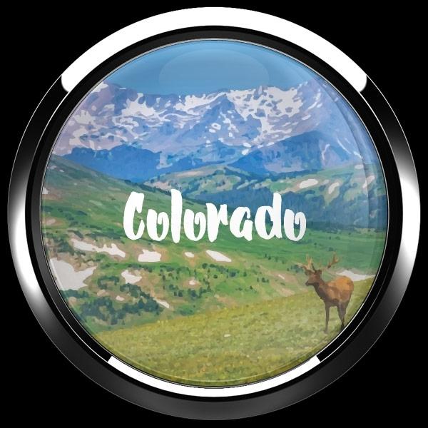 ゴーバッジ(ドーム)(CD1078 - COLORADO) - 画像3