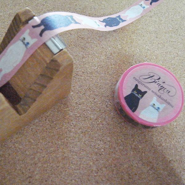 マスキングテープ <ネコ・ピンク>