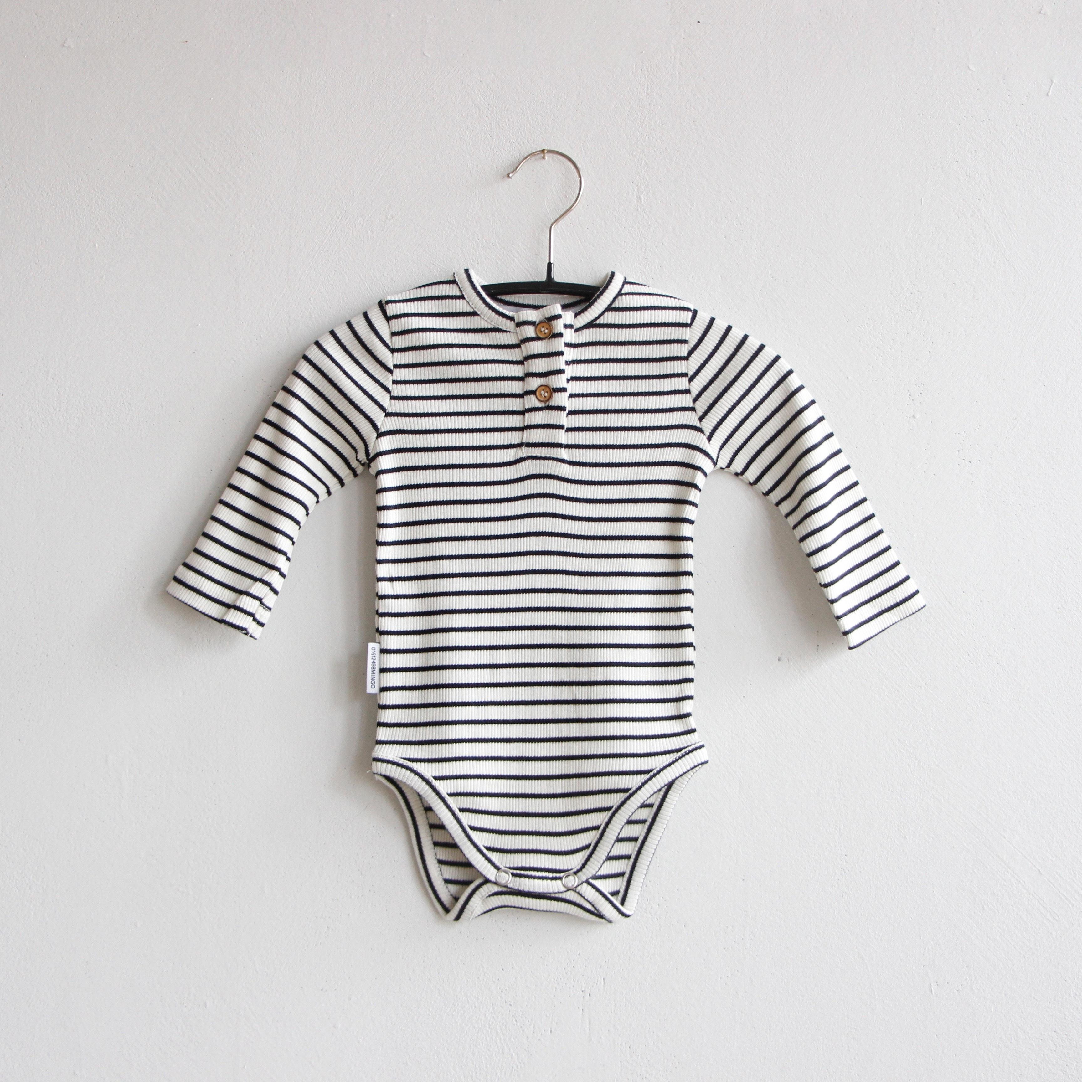 《MINGO.》Bodysuit / Stripes