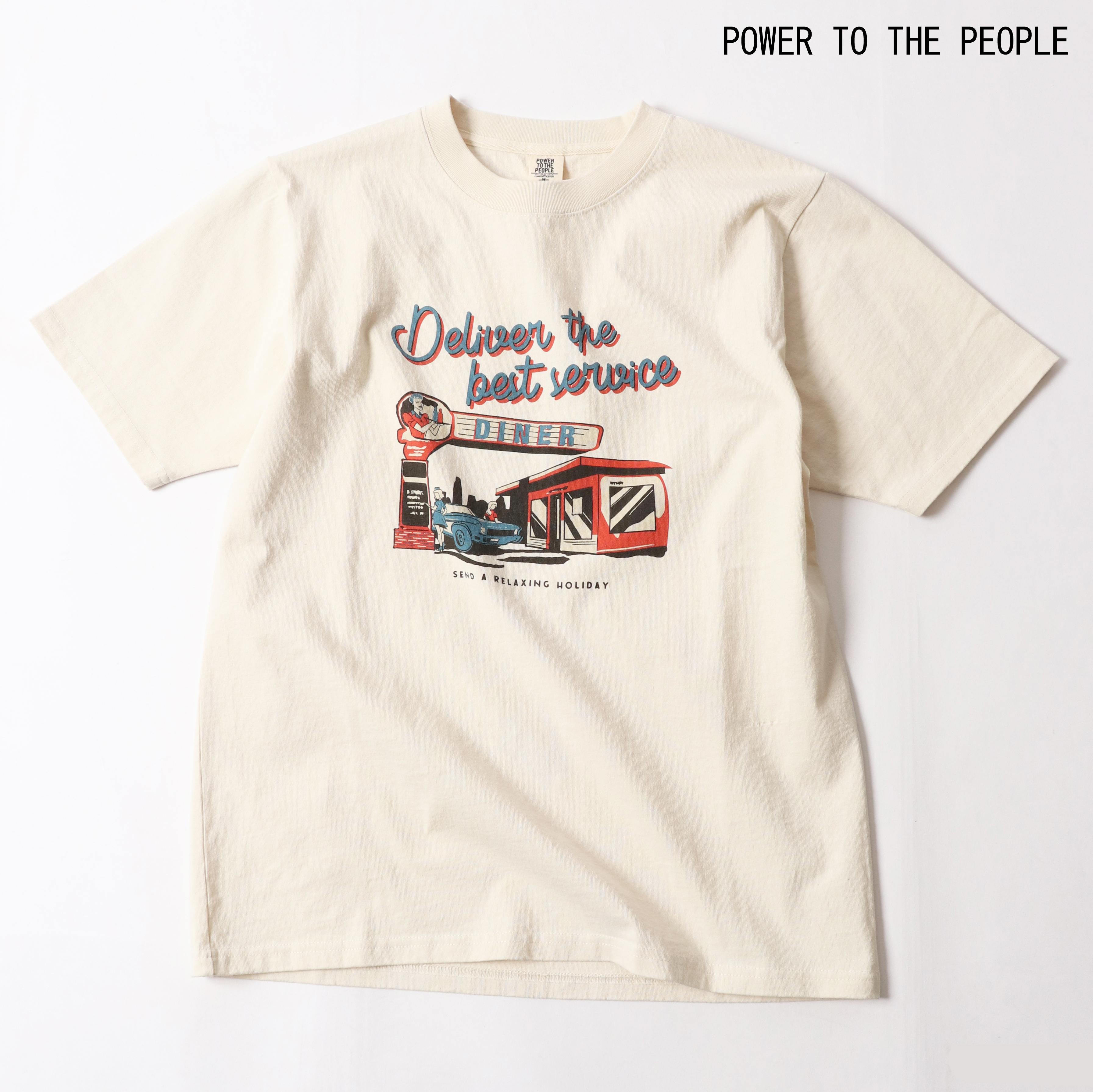 ≪VintageWash加工≫ 古着風イラストTシャツ NO0512146