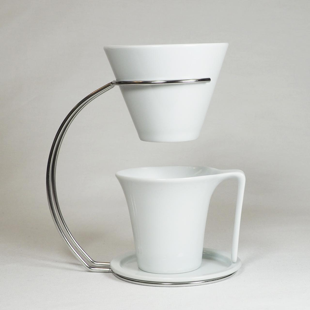 スタイリードリッパー&スタッキングマグカップ (白) 30-011-A