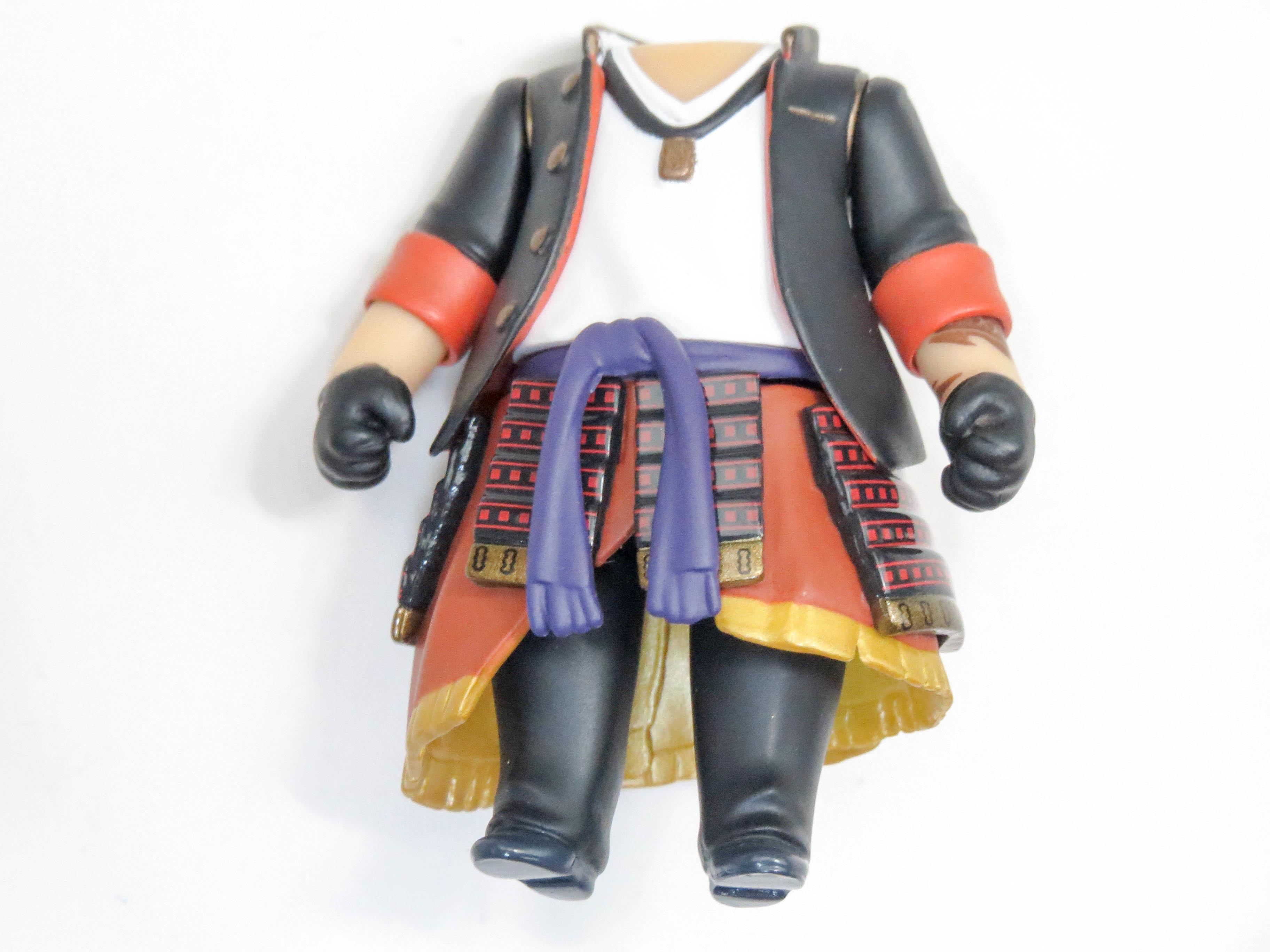 【677】 大倶利伽羅 体パーツ 戦闘服 ねんどろいど