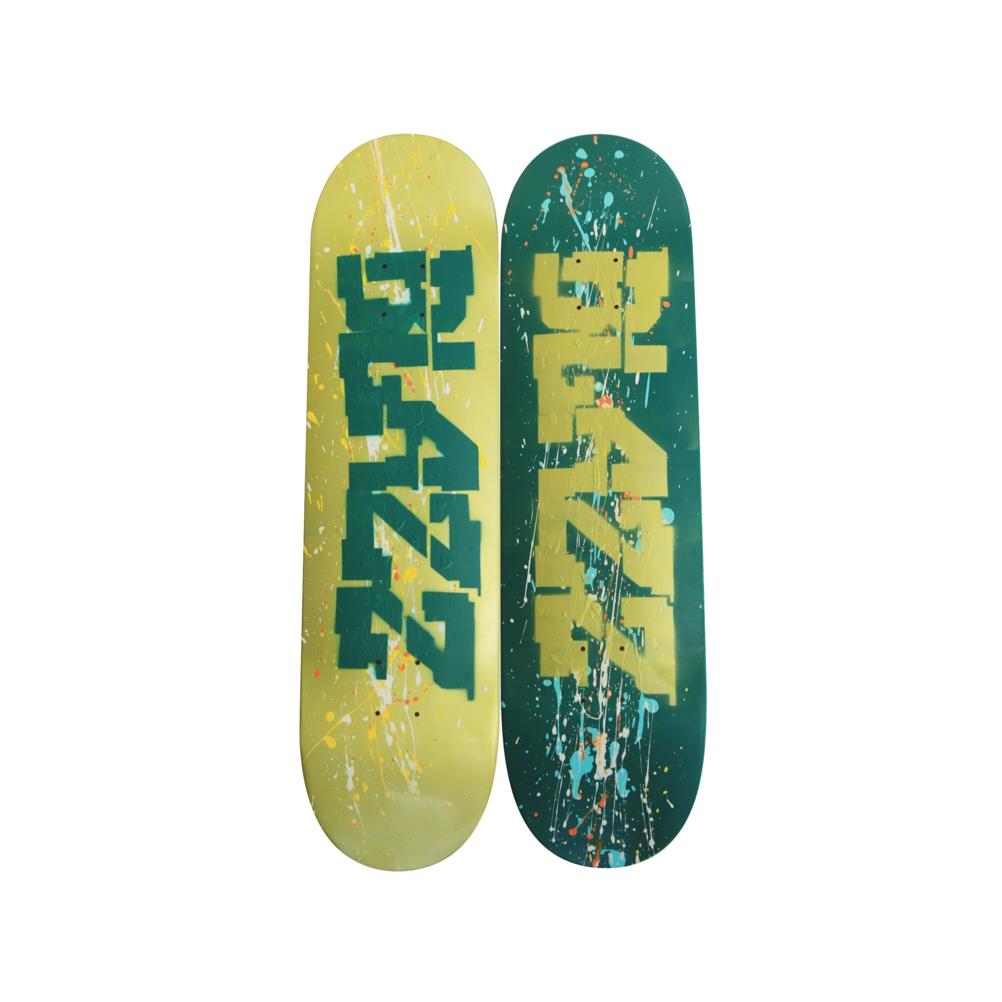 ZZSB ARTSESSION05 DECK04 (8.5) [GREEN/GOLD]