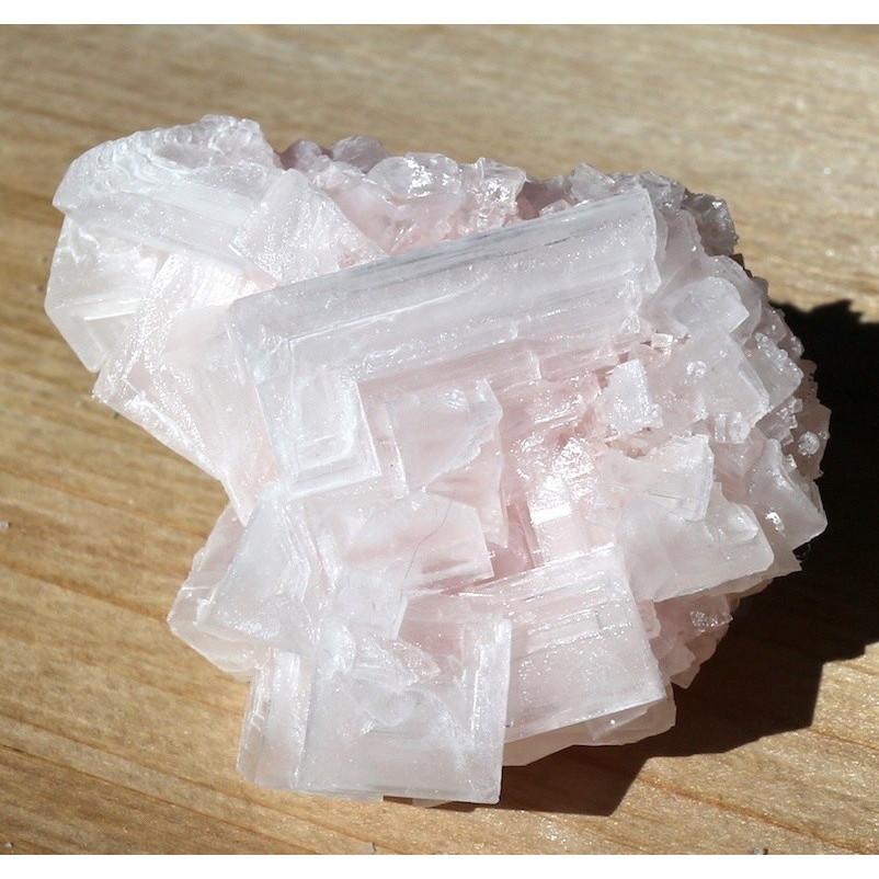 ピンクハーライト カリフォルニア産 69.2g 岩塩 PH012