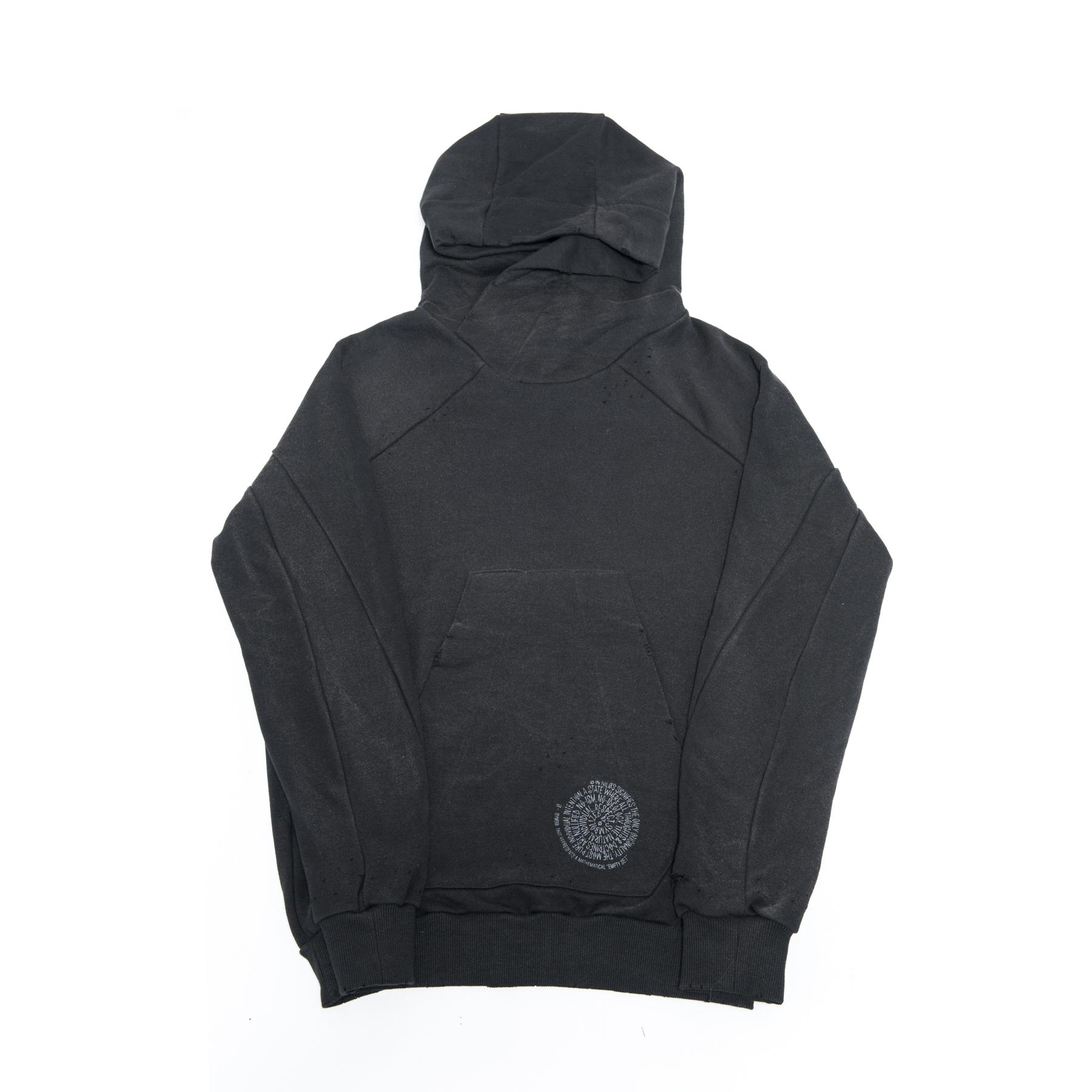 600CUM1-4-BLACK / パーカー ver.4