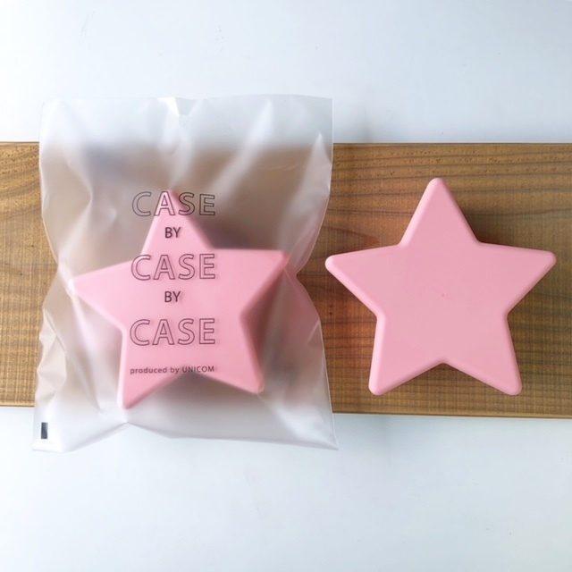 CASE BY CASE BY CASE -star food case- Pink 星フードケース・タッパー