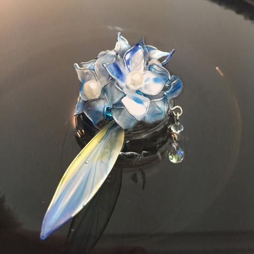 【紫陽花と斑雲】ー紫陽花 hydrangea