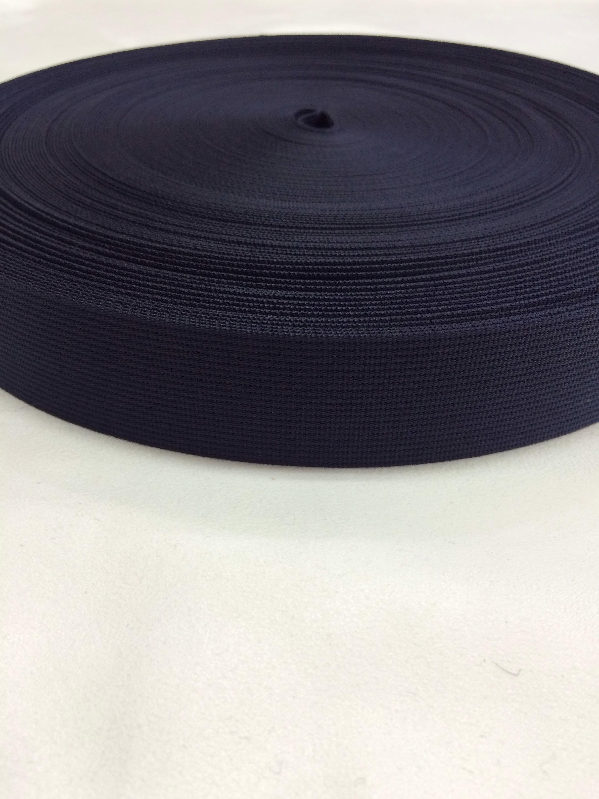 ナイロンテープ 高密度織 38mm幅 1mm厚 カラー(黒以外) 1m