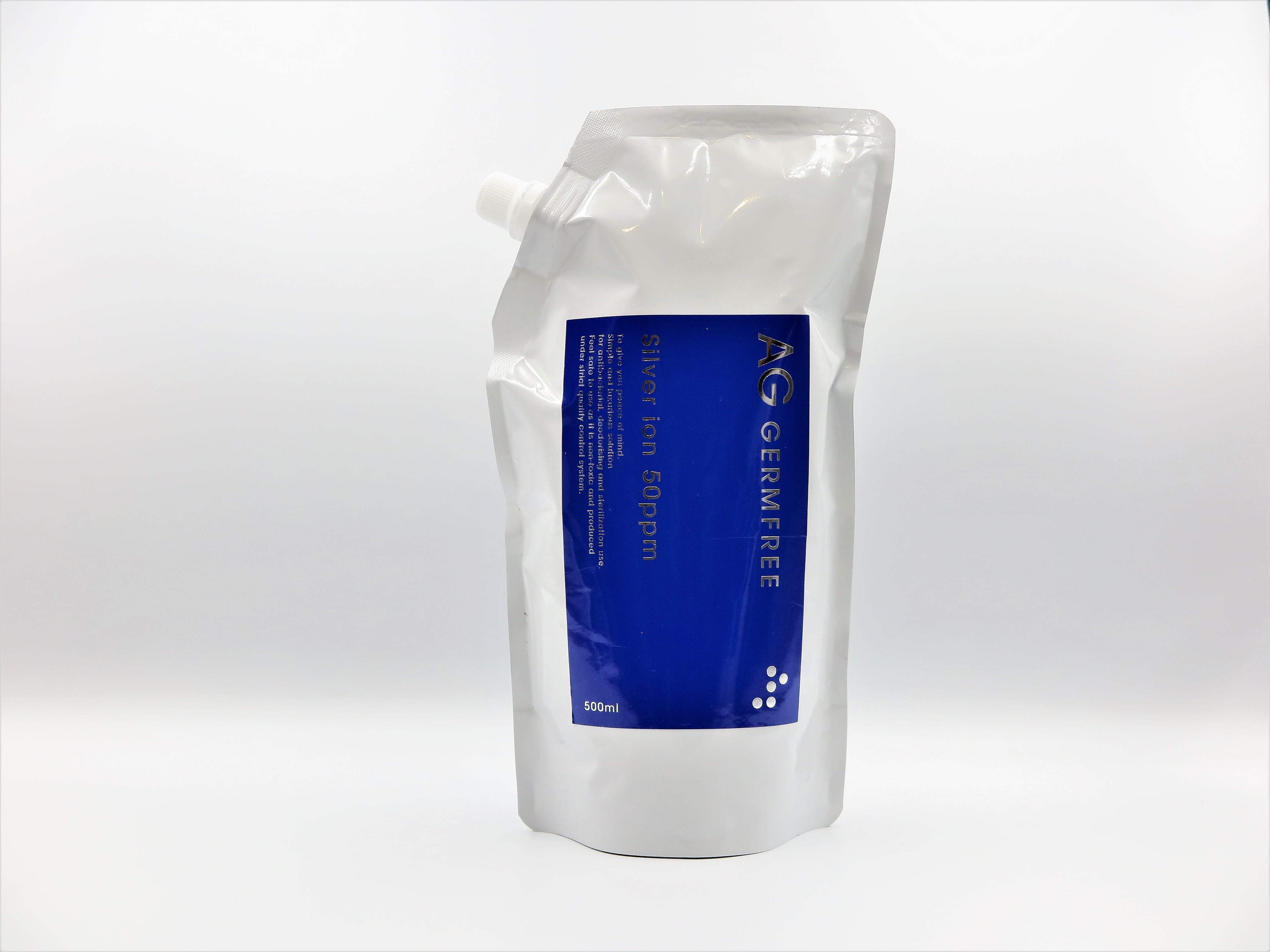 AG GERMFREE 500ml|高濃度銀イオン水(50ppm)除菌・抗菌・消臭に