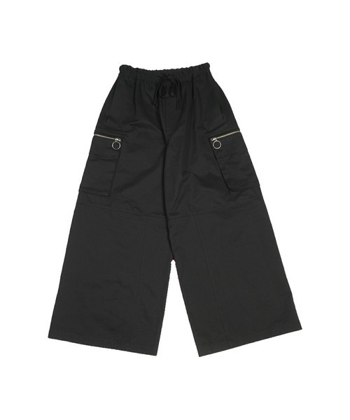 WIDE CARGO PANTS / BLACK - 画像1