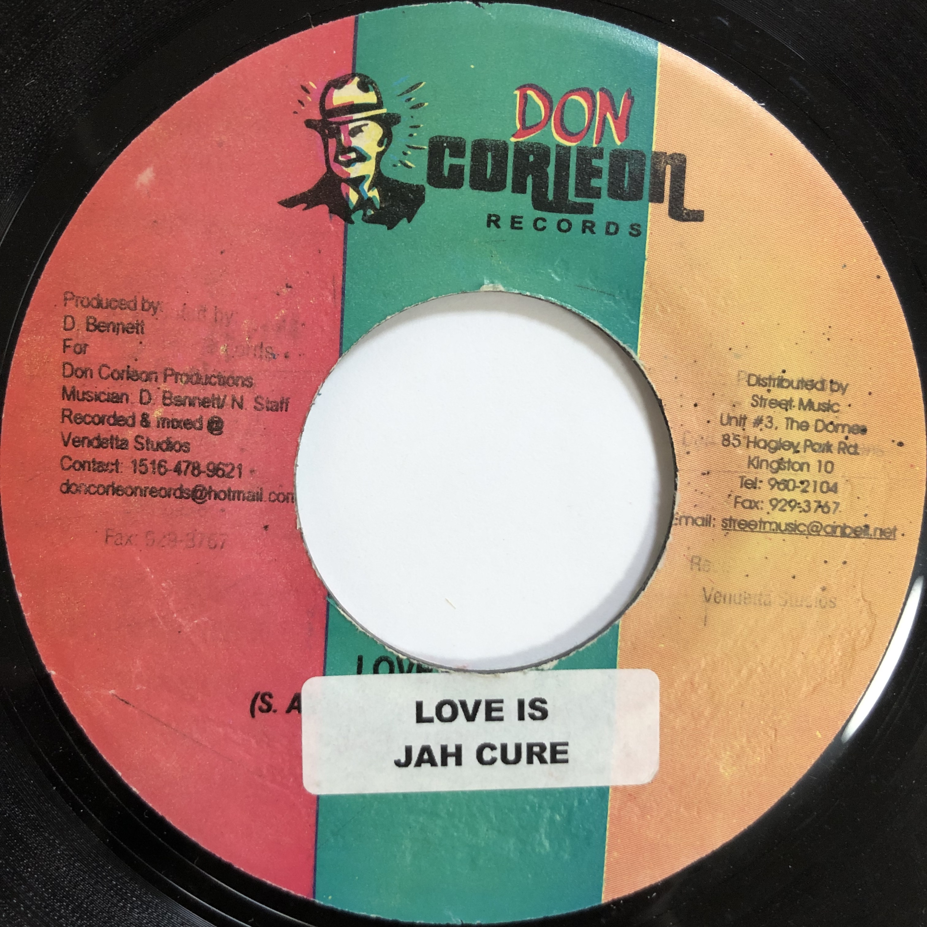 Jah Cure(ジャーキュア) - Love Is【7-20036】